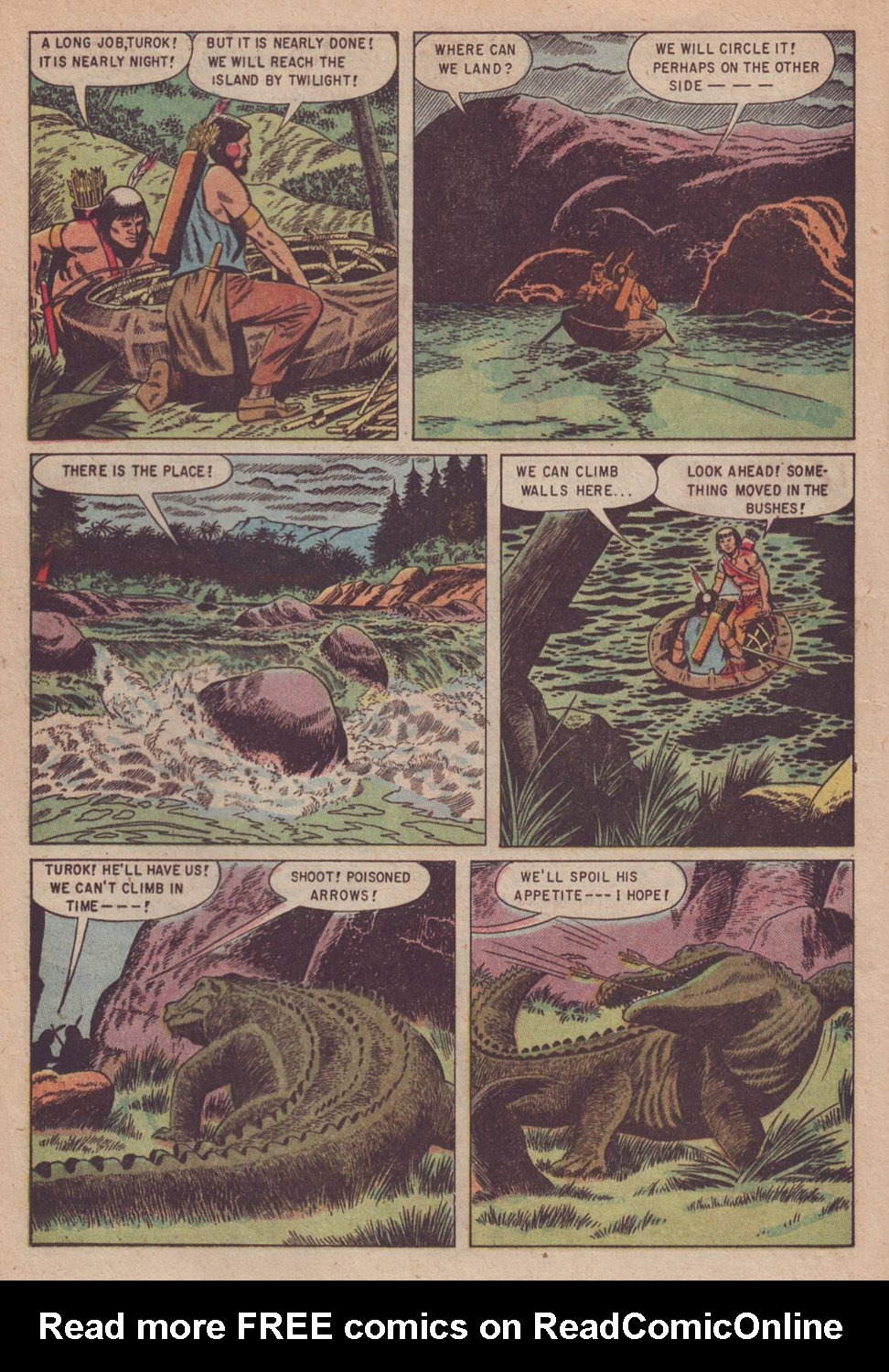 Read online Turok, Son of Stone comic -  Issue #3 - 12