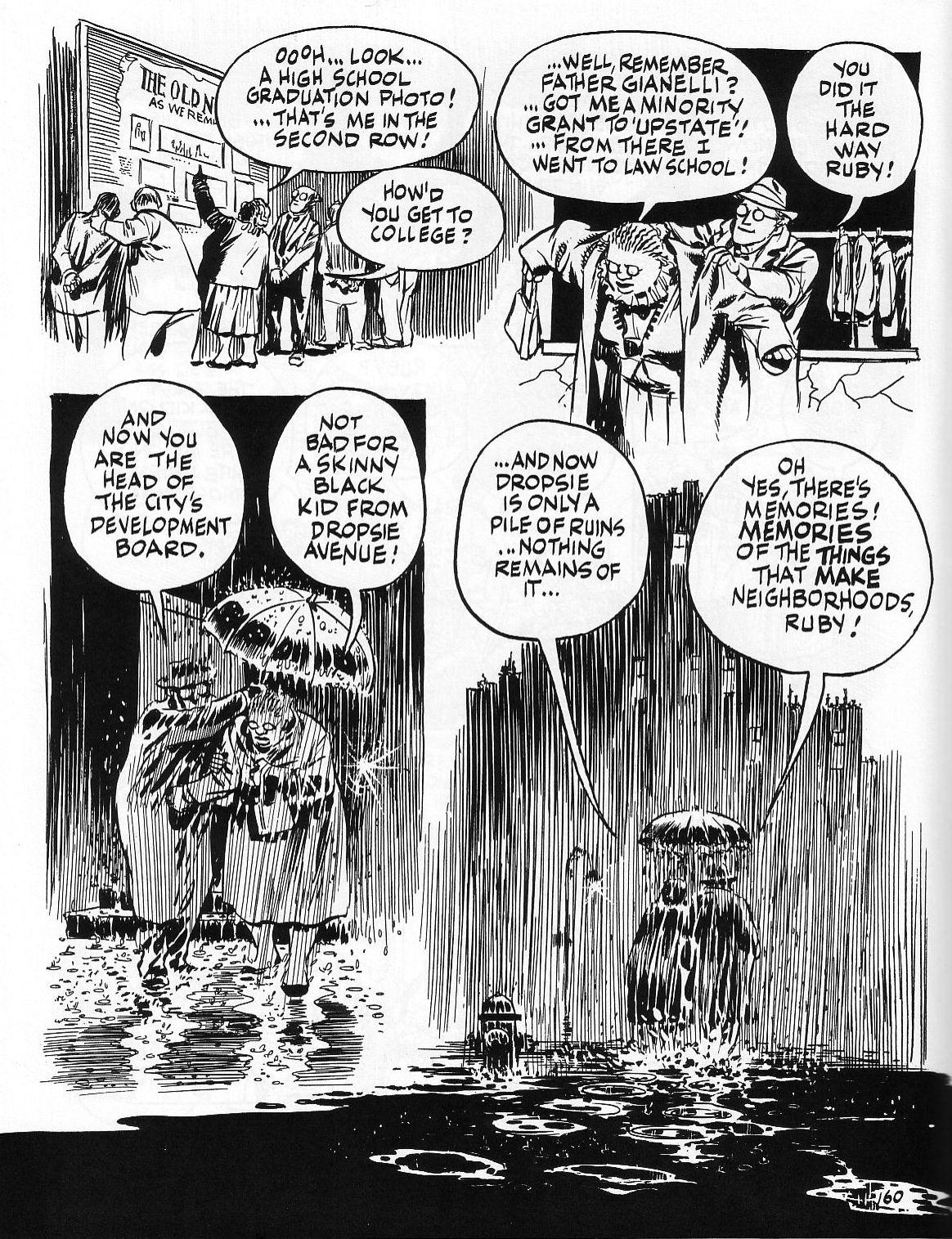 Read online Dropsie Avenue, The Neighborhood comic -  Issue # Full - 162