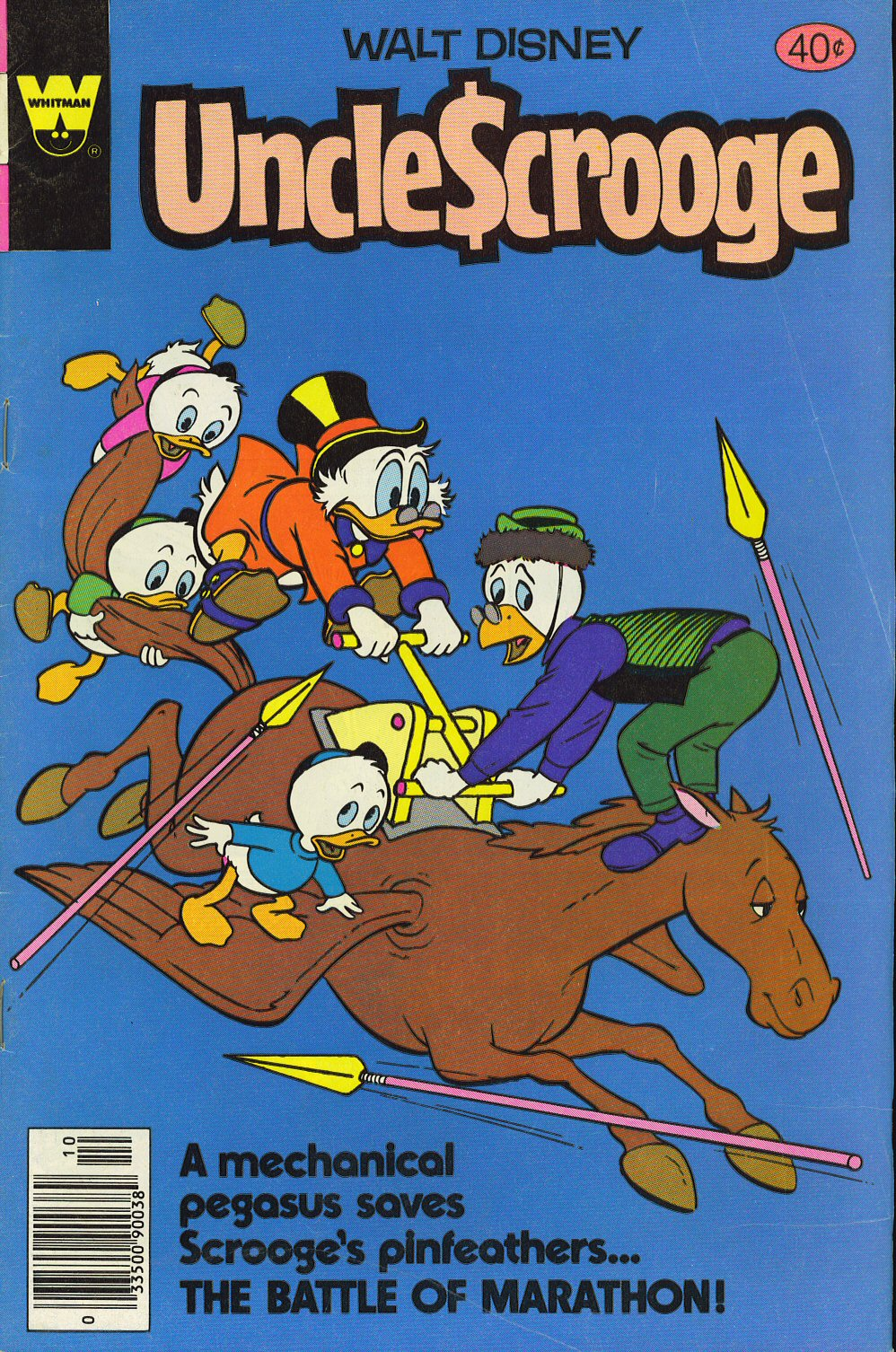 Read online Uncle Scrooge (1953) comic -  Issue #169 - 1