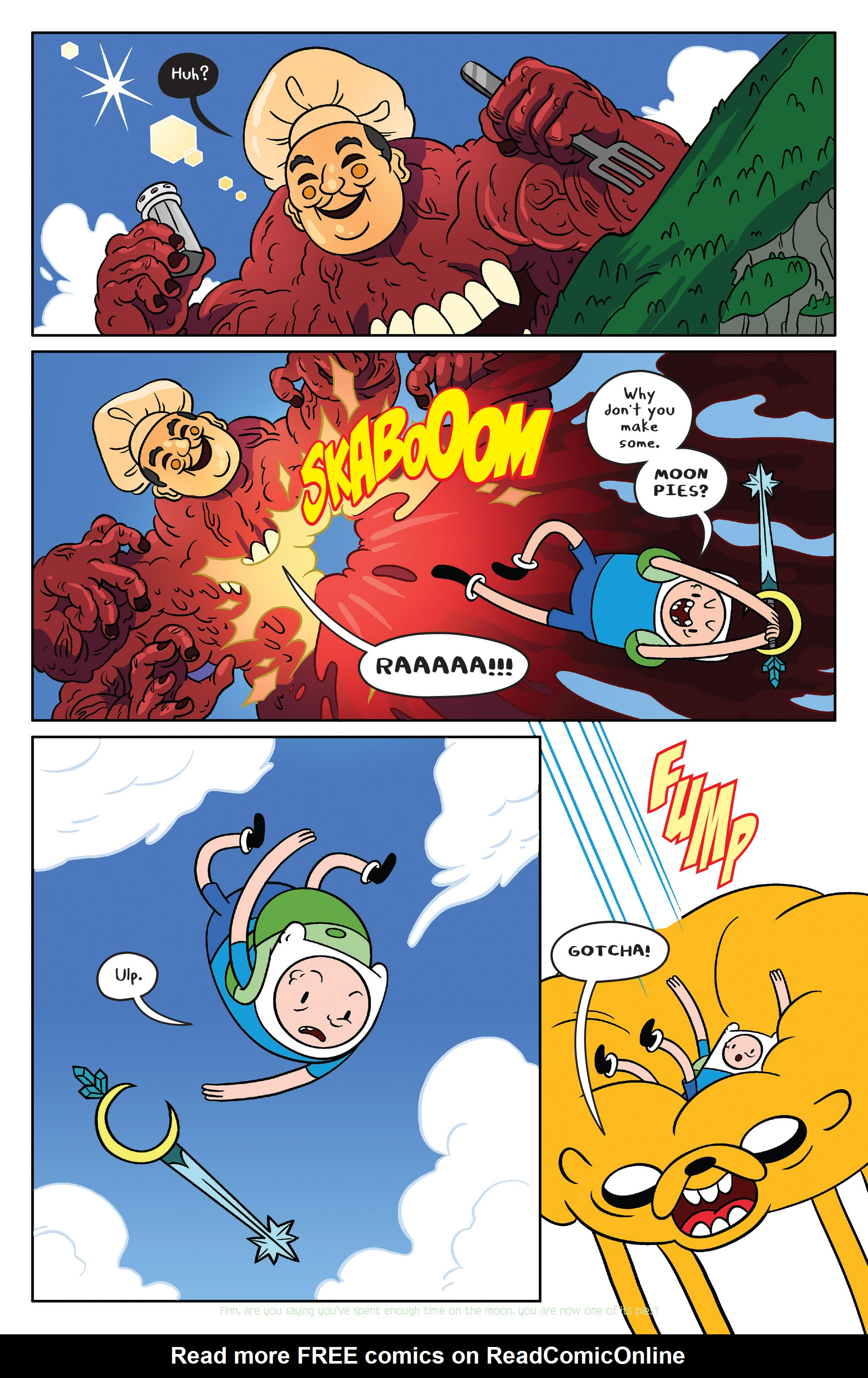 Read online Adventure Time comic -  Issue #39 - 16