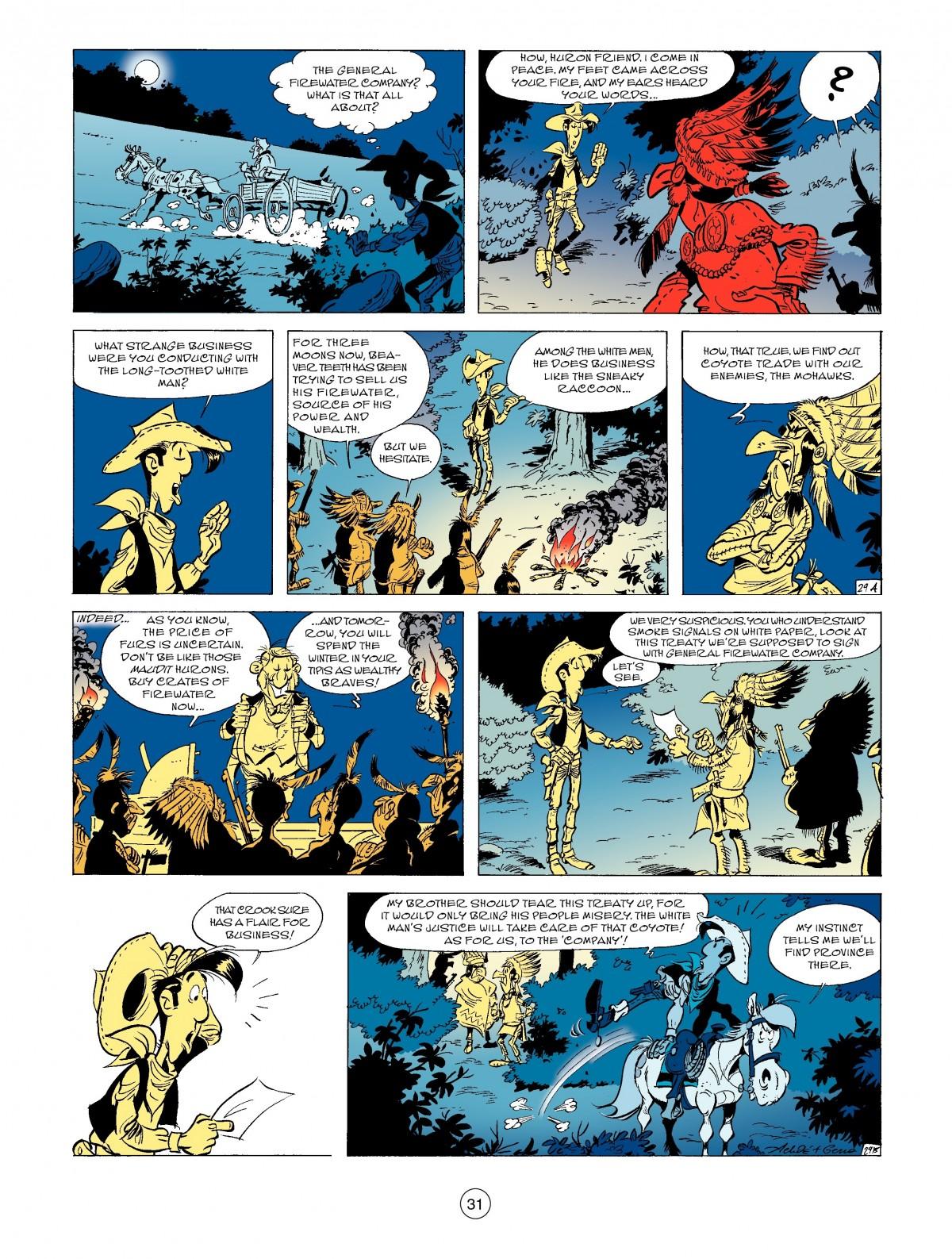Read online A Lucky Luke Adventure comic -  Issue #52 - 33