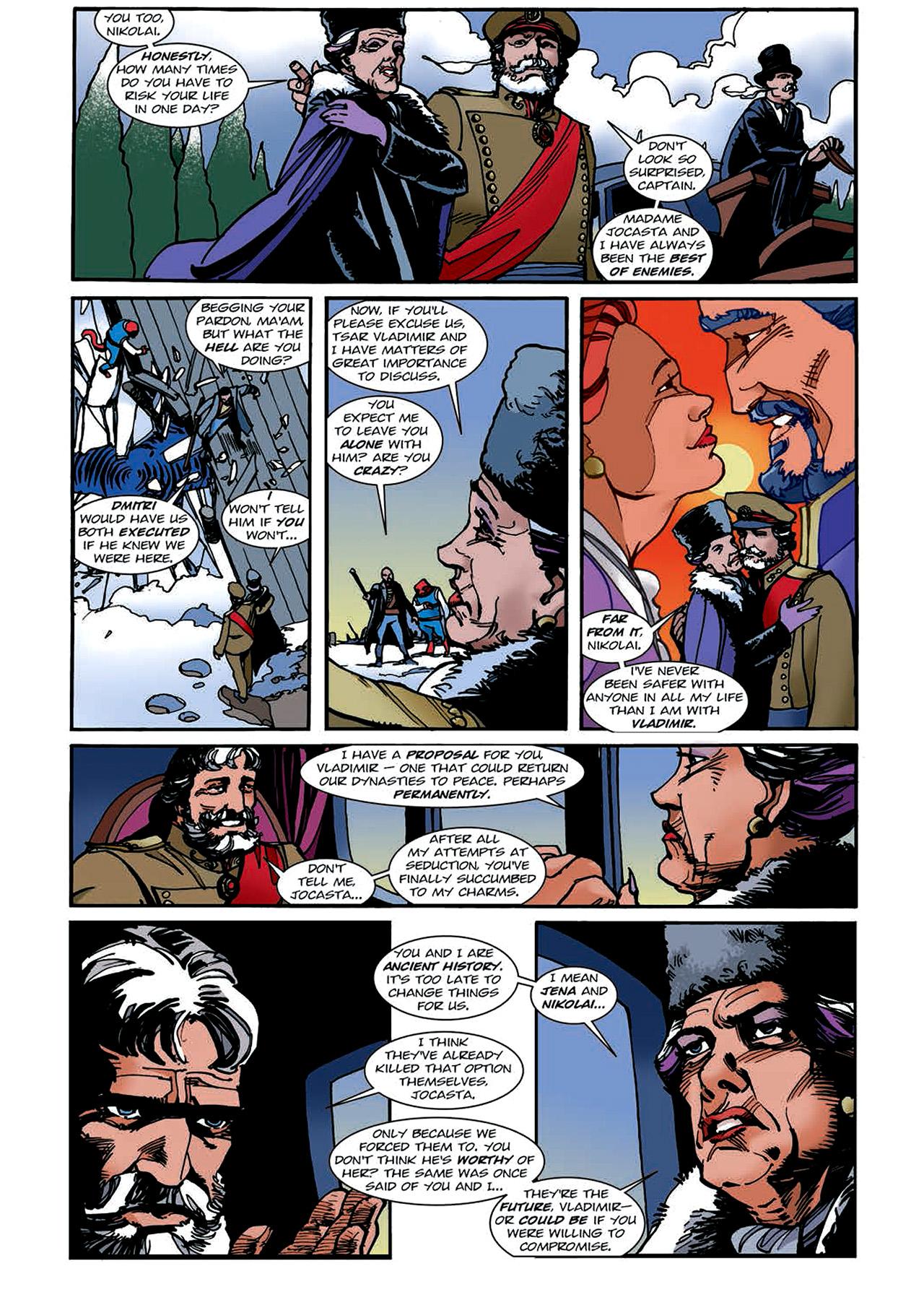 Read online Nikolai Dante comic -  Issue # TPB 4 - 122