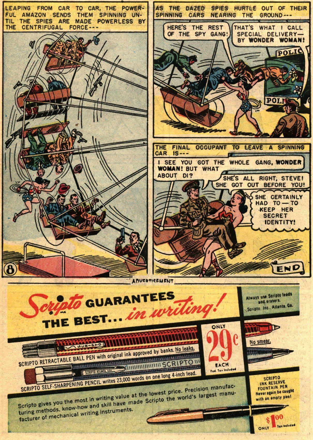 Read online Wonder Woman (1942) comic -  Issue #67 - 10