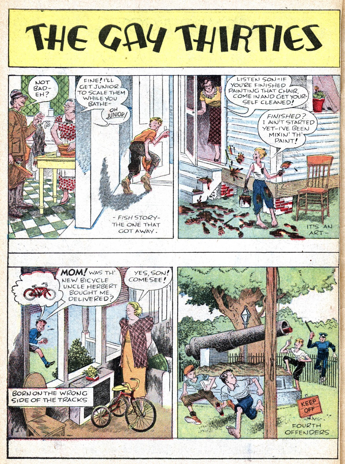 Read online Famous Funnies comic -  Issue #36 - 64