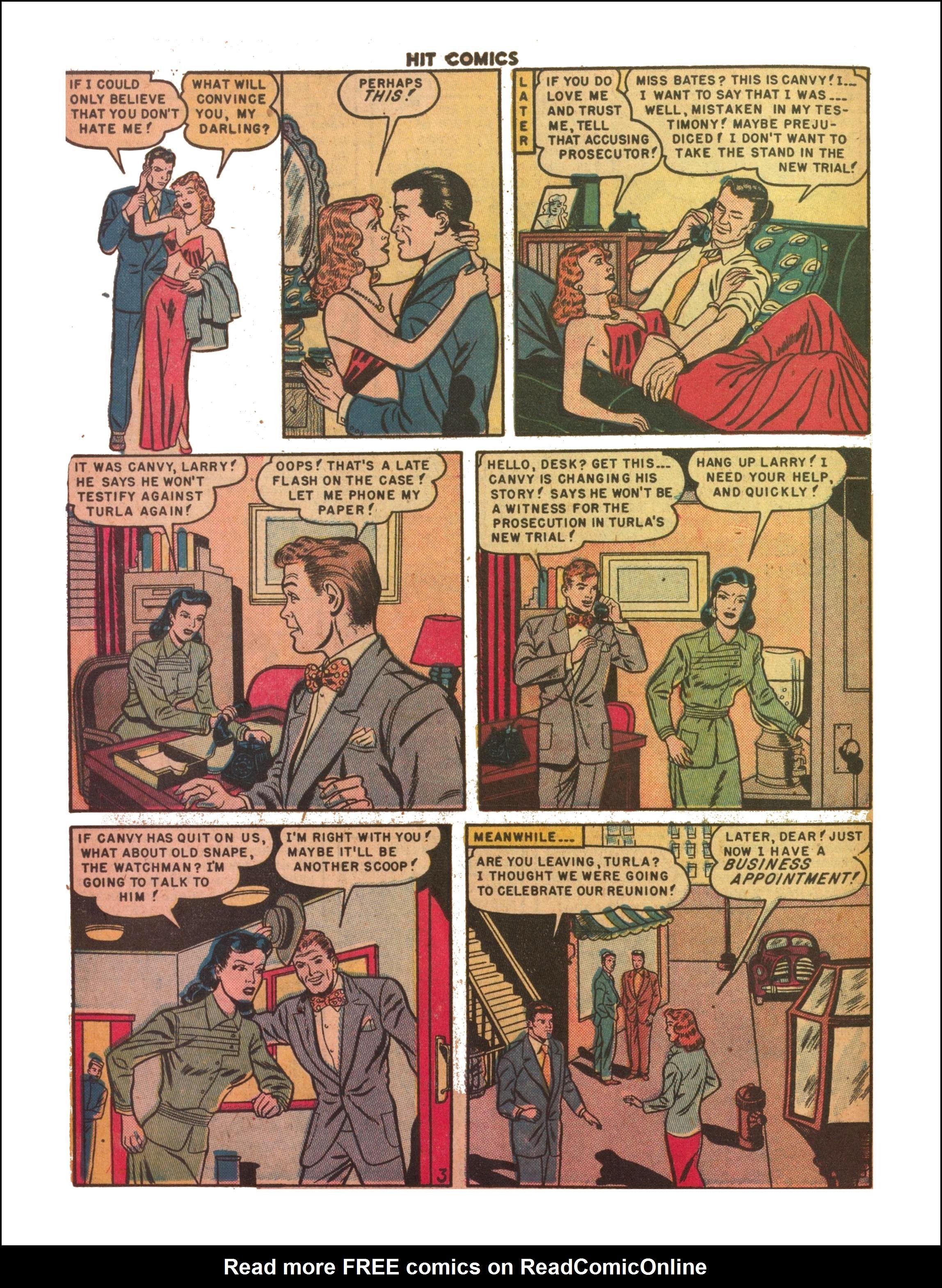 Read online Hit Comics comic -  Issue #65 - 30