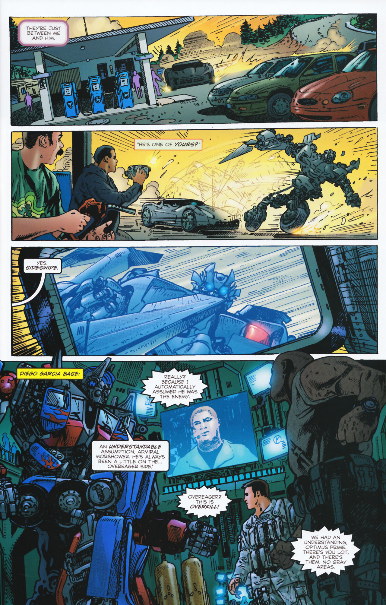 Read online Transformers: Tales of The Fallen comic -  Issue #2 - 6