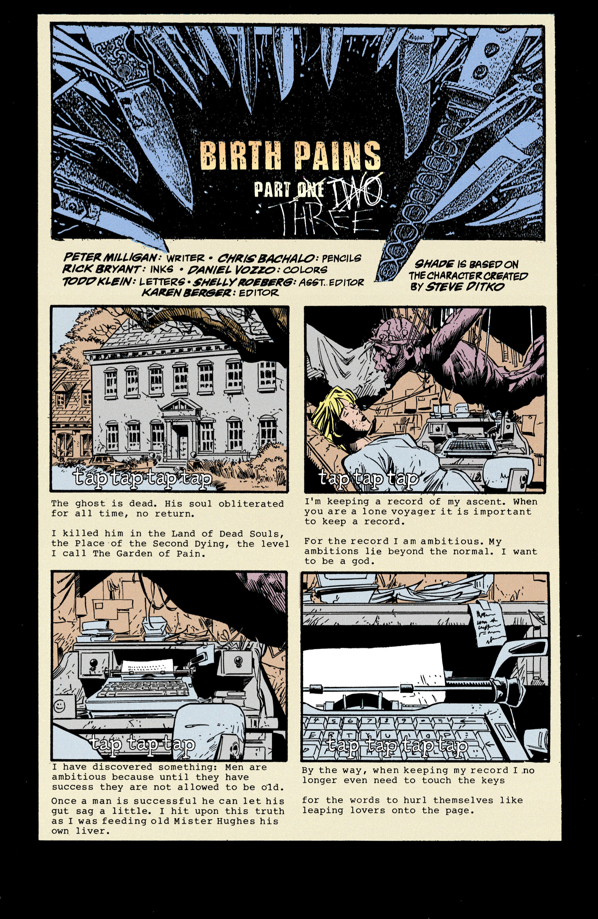 Read online Shade, the Changing Man comic -  Issue #35 - 2