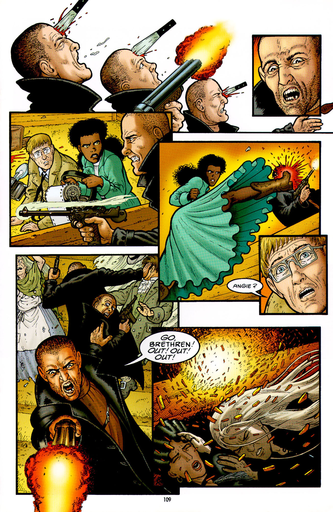 Read online Heart of Empire comic -  Issue #4 - 13