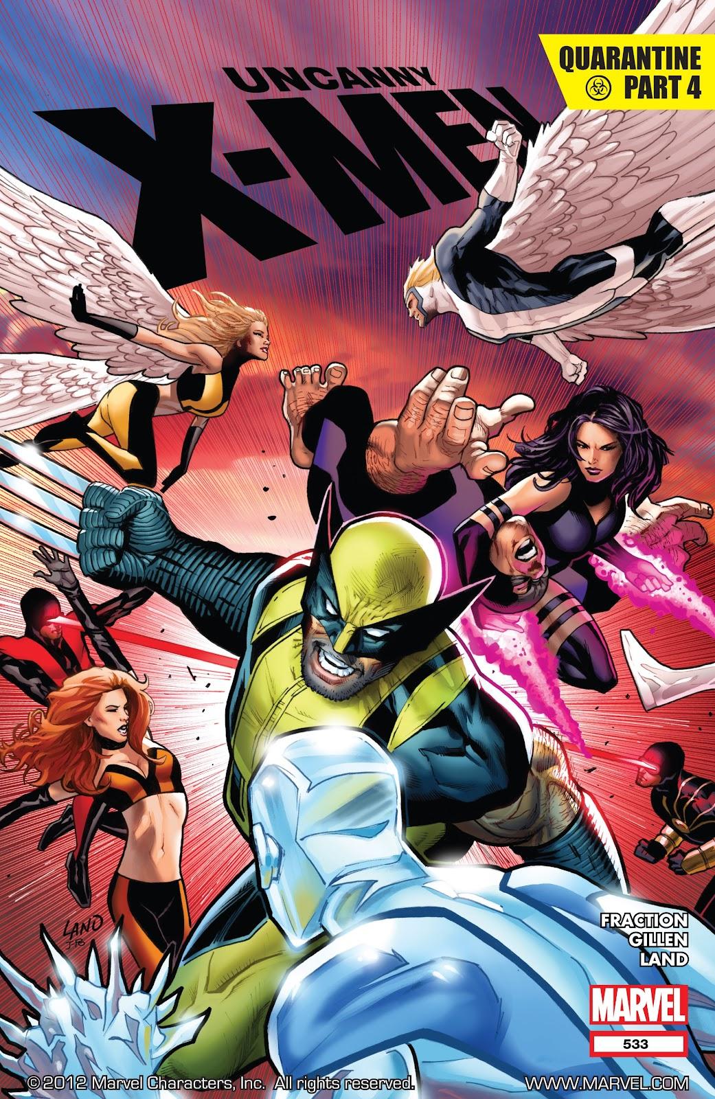 Uncanny X-Men (1963) issue 533 - Page 1
