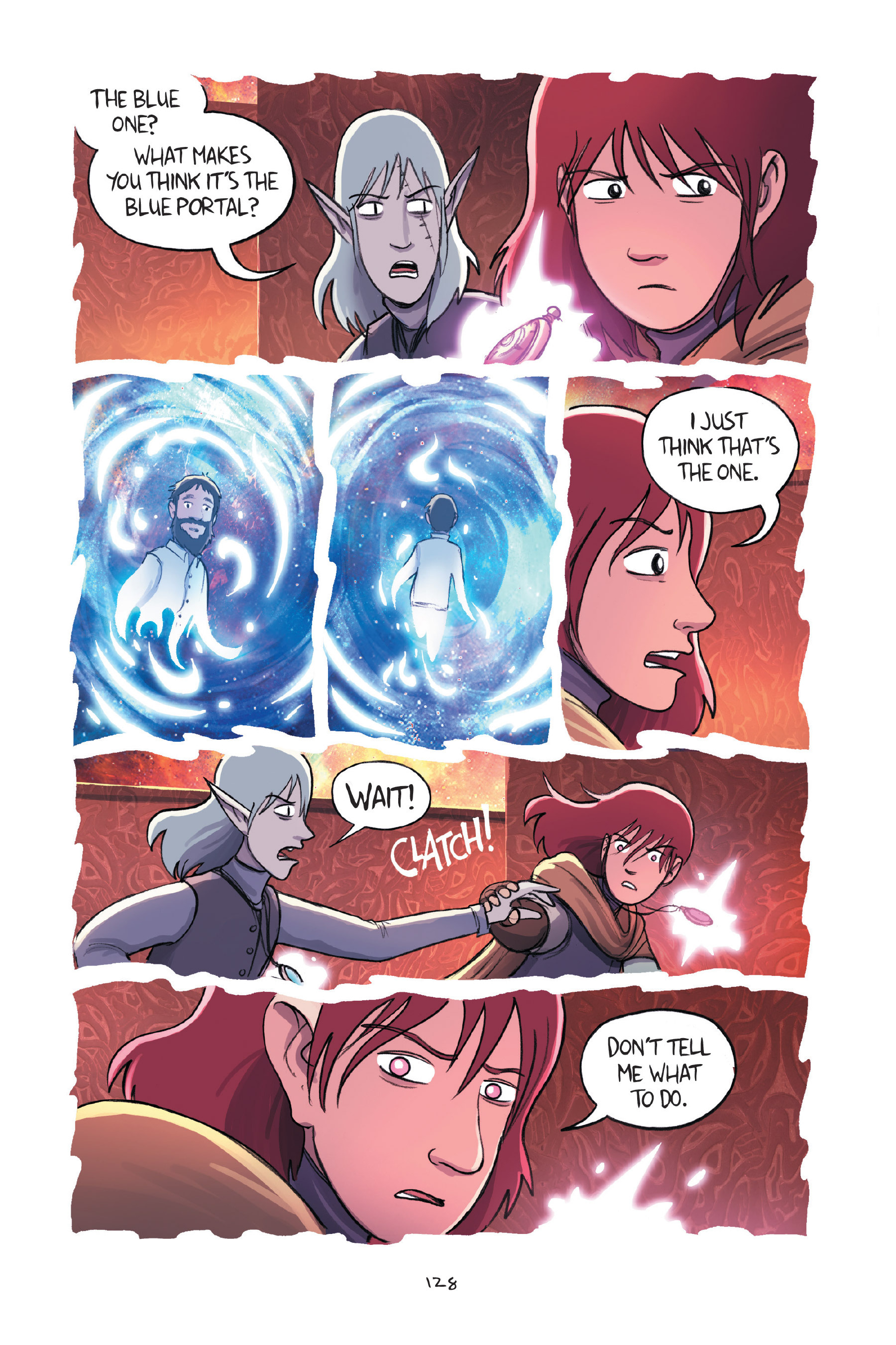 Read online Amulet comic -  Issue #7 - 128