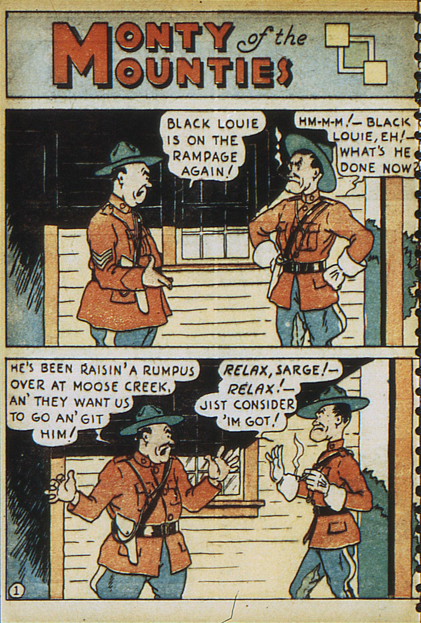 Read online Adventure Comics (1938) comic -  Issue #23 - 36