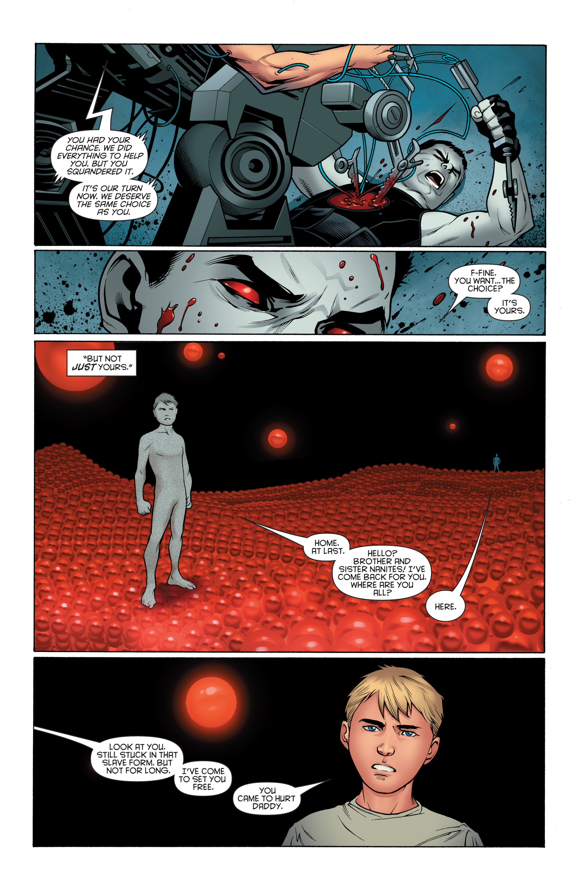 Read online Bloodshot and H.A.R.D.Corps comic -  Issue # TPB 4 - 88