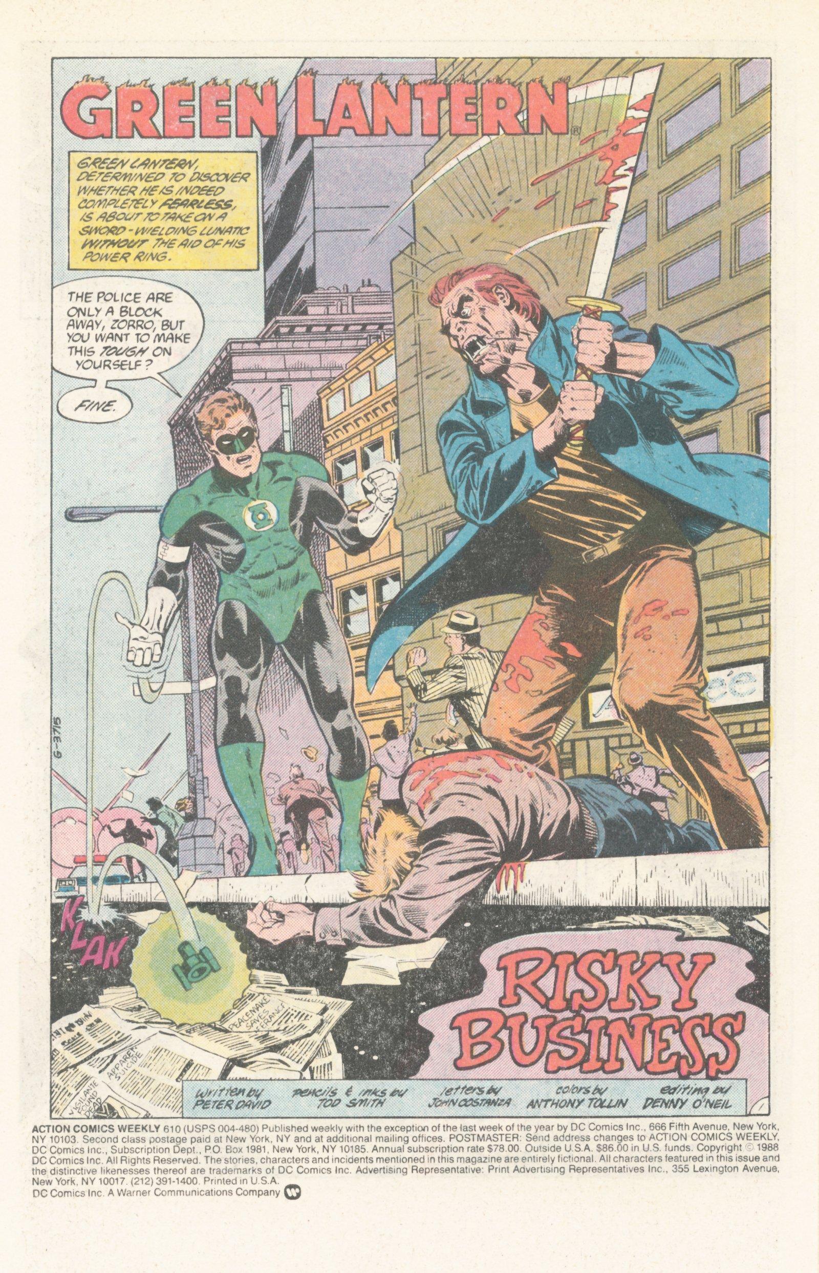 Action Comics (1938) 610 Page 2