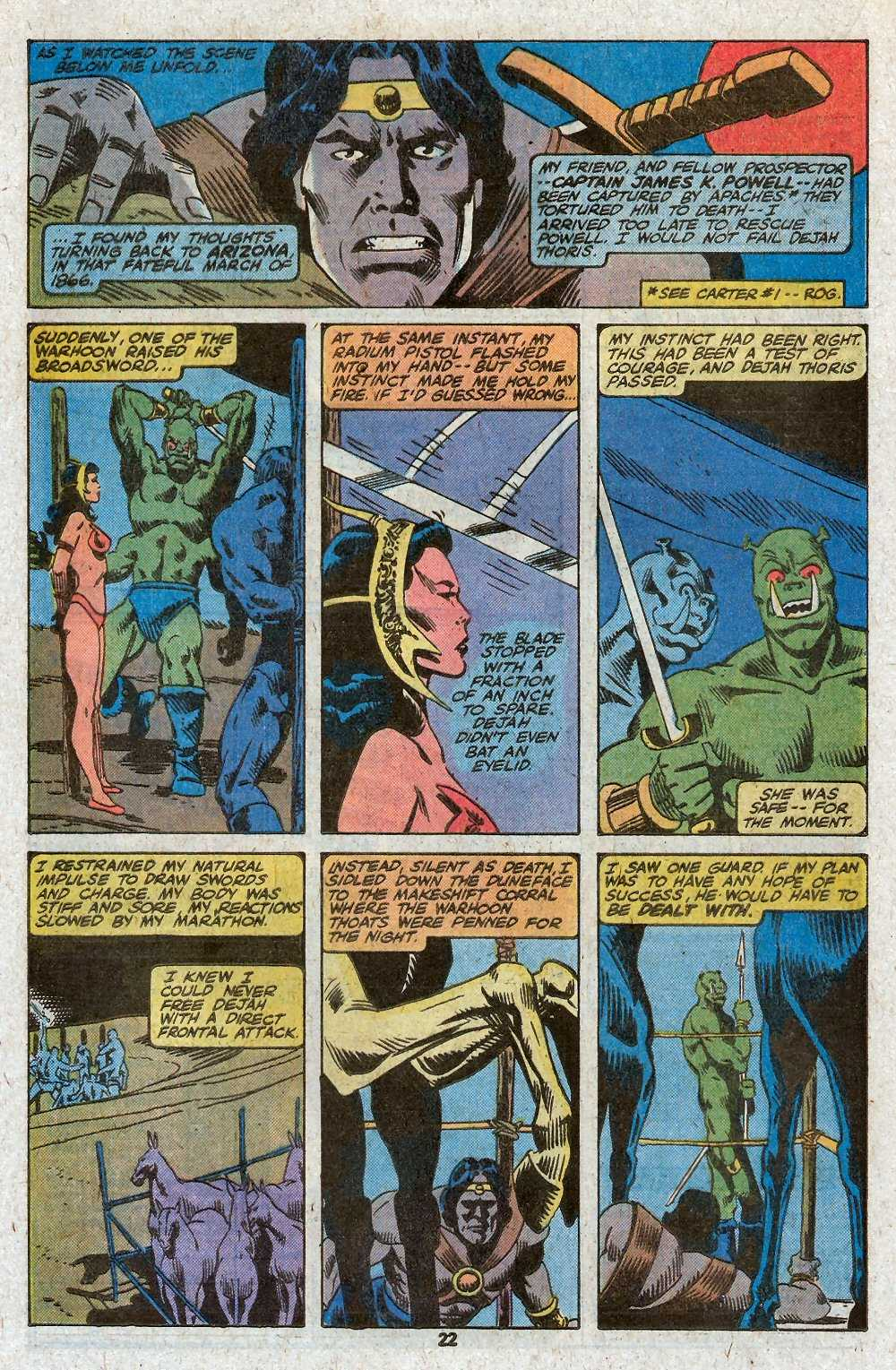 John Carter Warlord of Mars issue 27 - Page 24