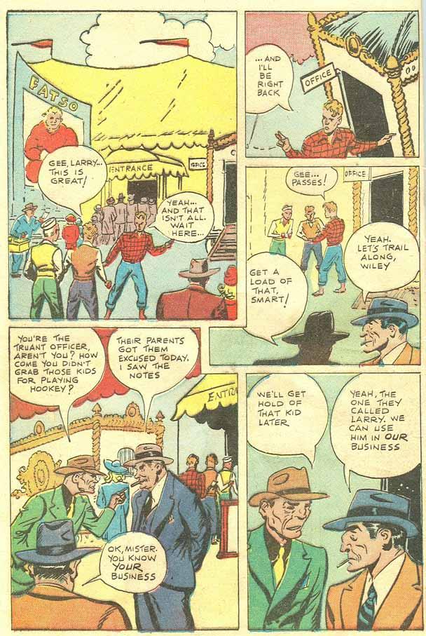 Read online Shadow Comics comic -  Issue #79 - 40