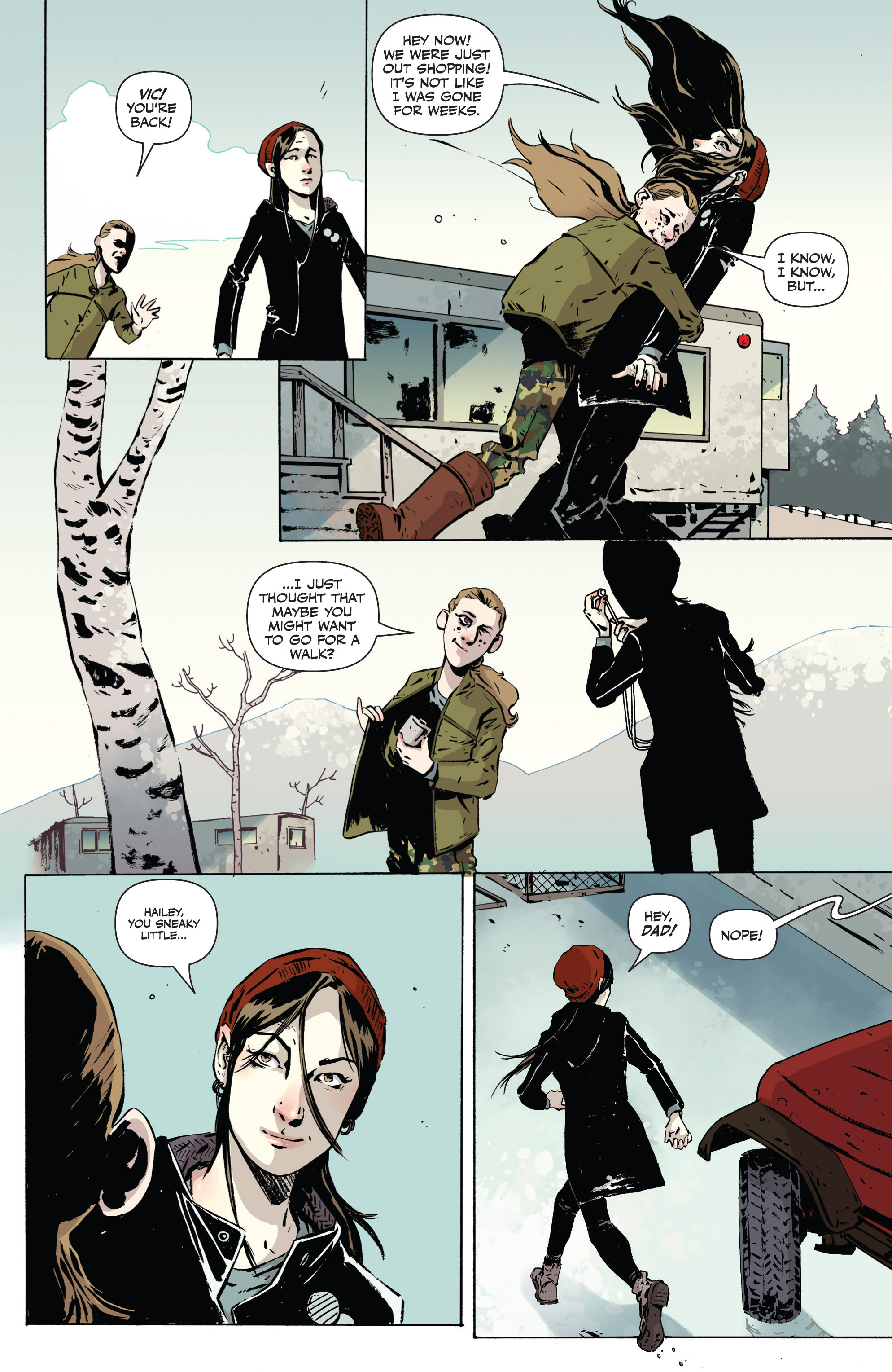 Read online Sheltered comic -  Issue #1 - 4