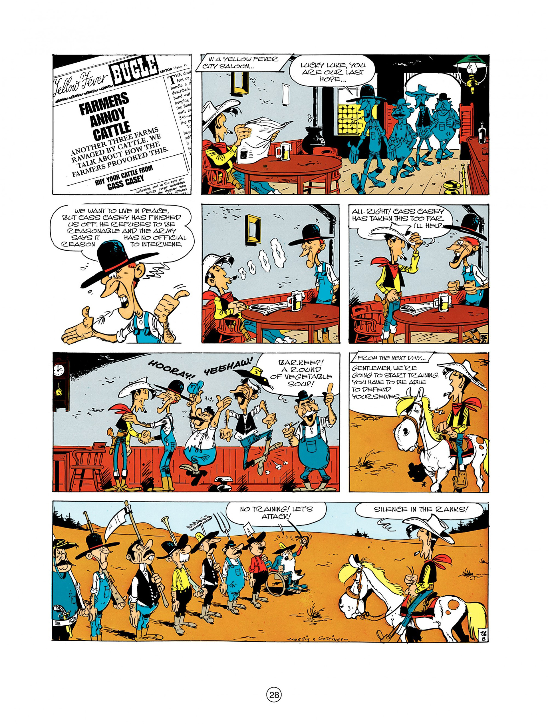 Read online A Lucky Luke Adventure comic -  Issue #7 - 28