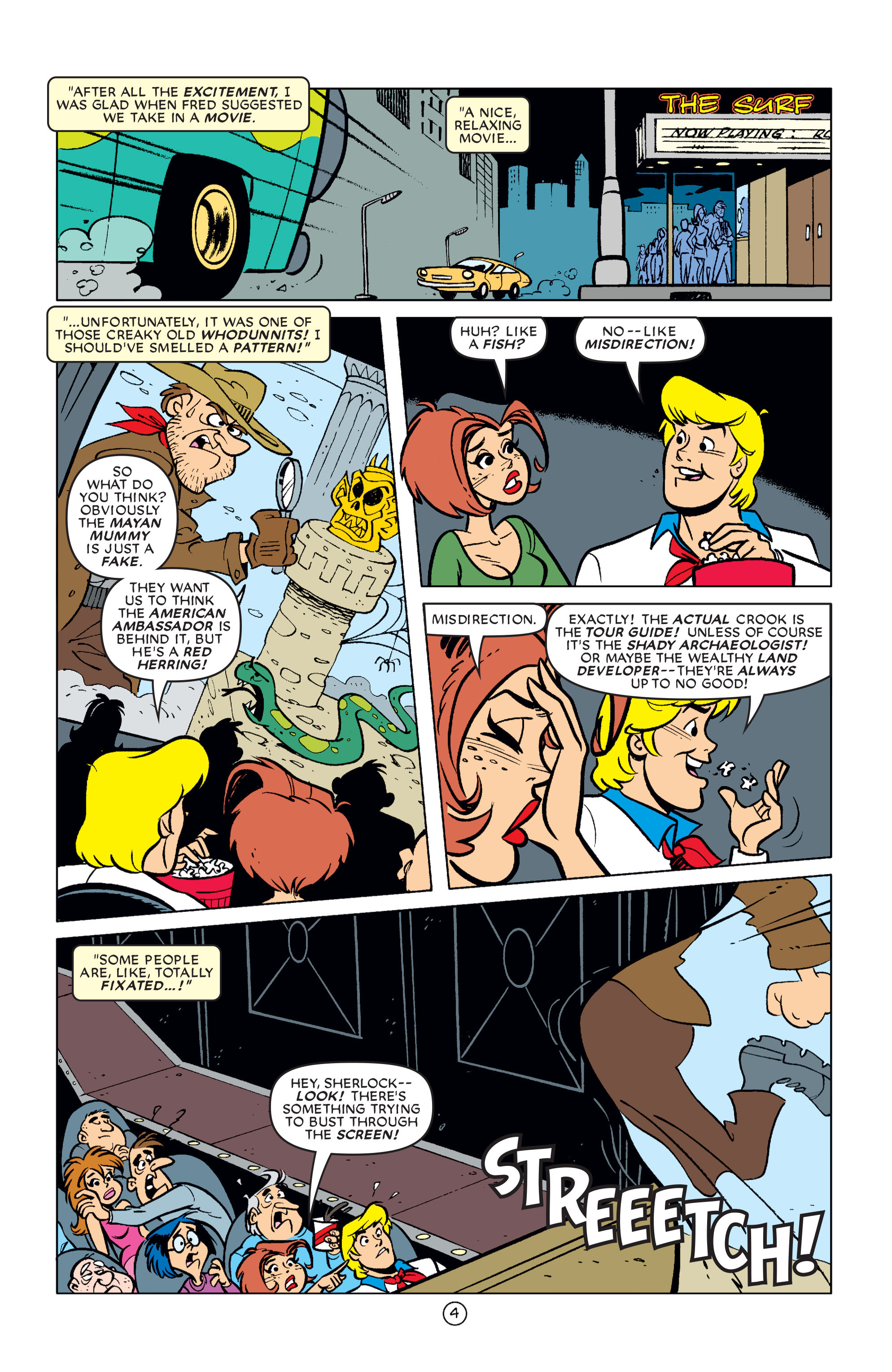 Read online Scooby-Doo (1997) comic -  Issue #61 - 5
