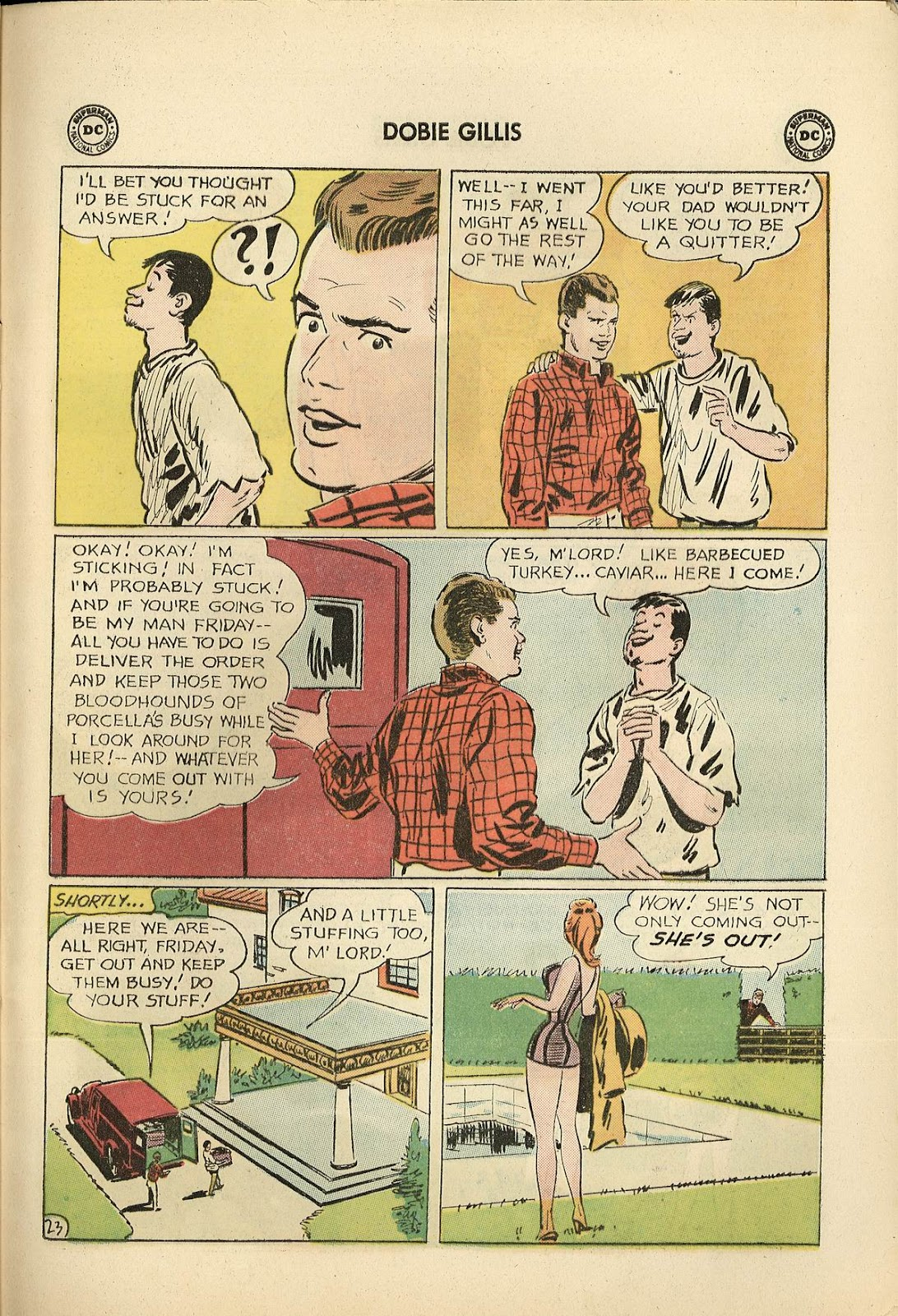 Many Loves of Dobie Gillis issue 22 - Page 29