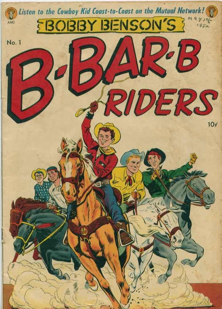 Bobby Bensons B-Bar-B Riders 1 Page 1