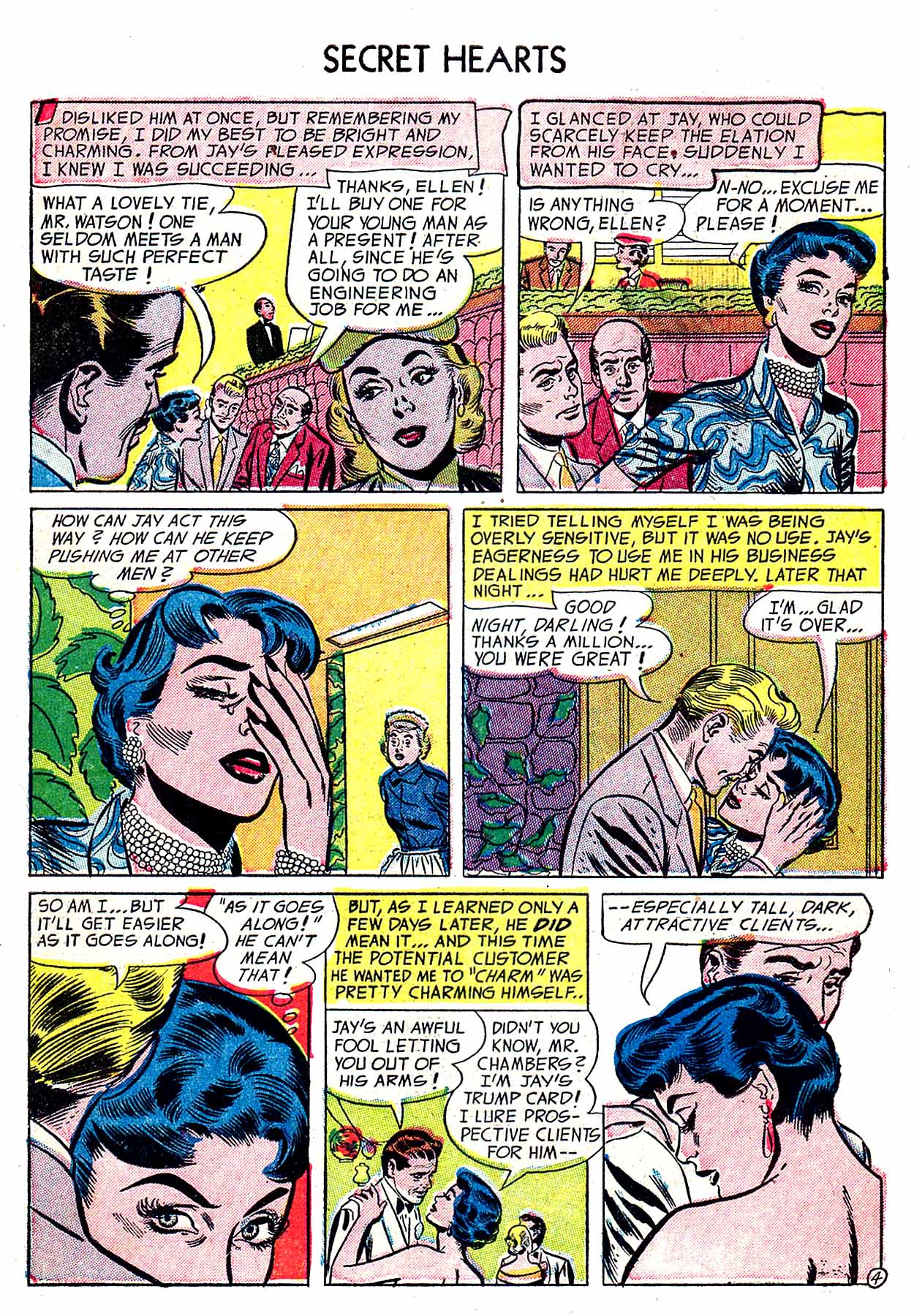 Read online Secret Hearts comic -  Issue #19 - 6