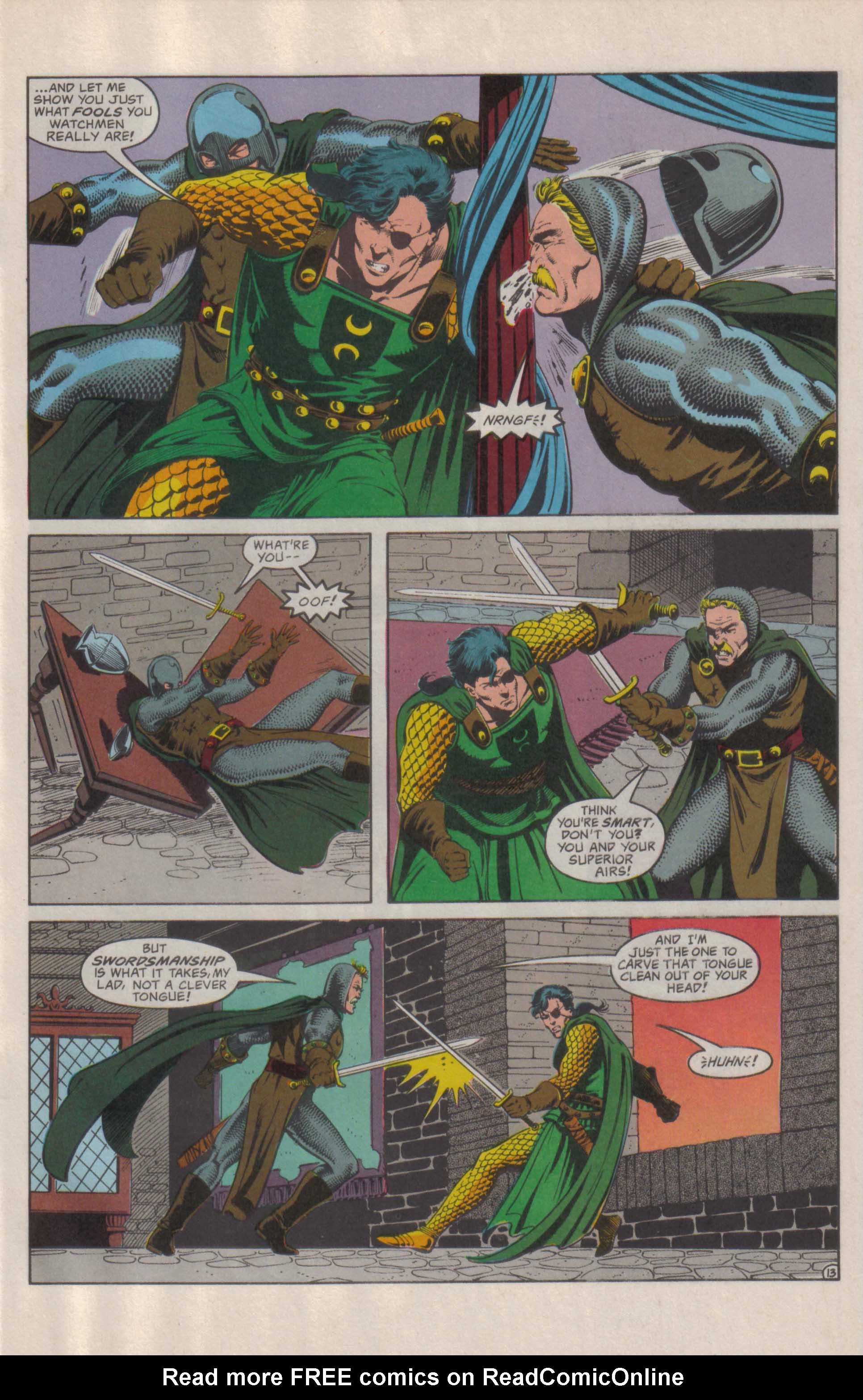 Read online Advanced Dungeons & Dragons comic -  Issue #29 - 14