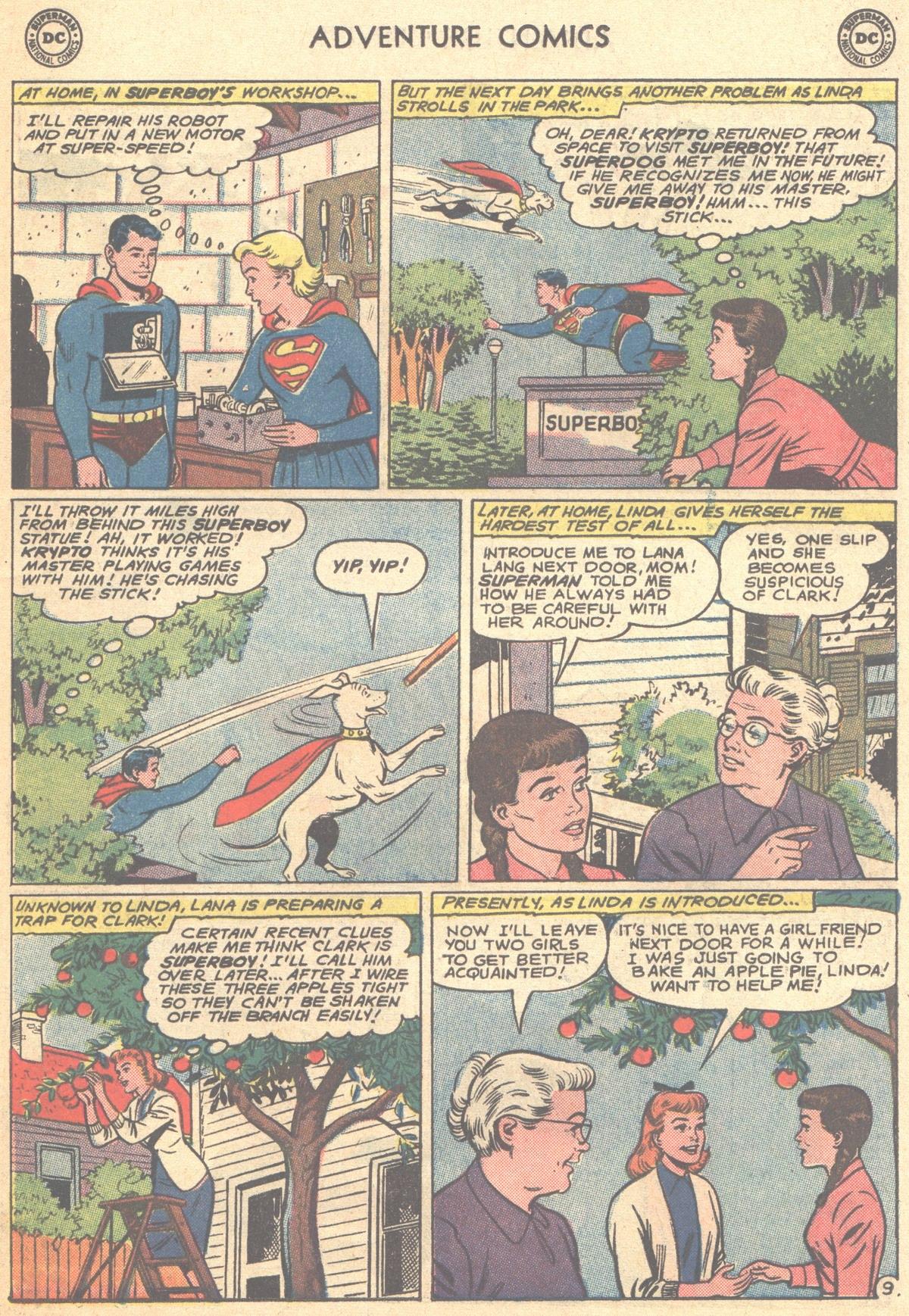 Read online Adventure Comics (1938) comic -  Issue #278 - 11