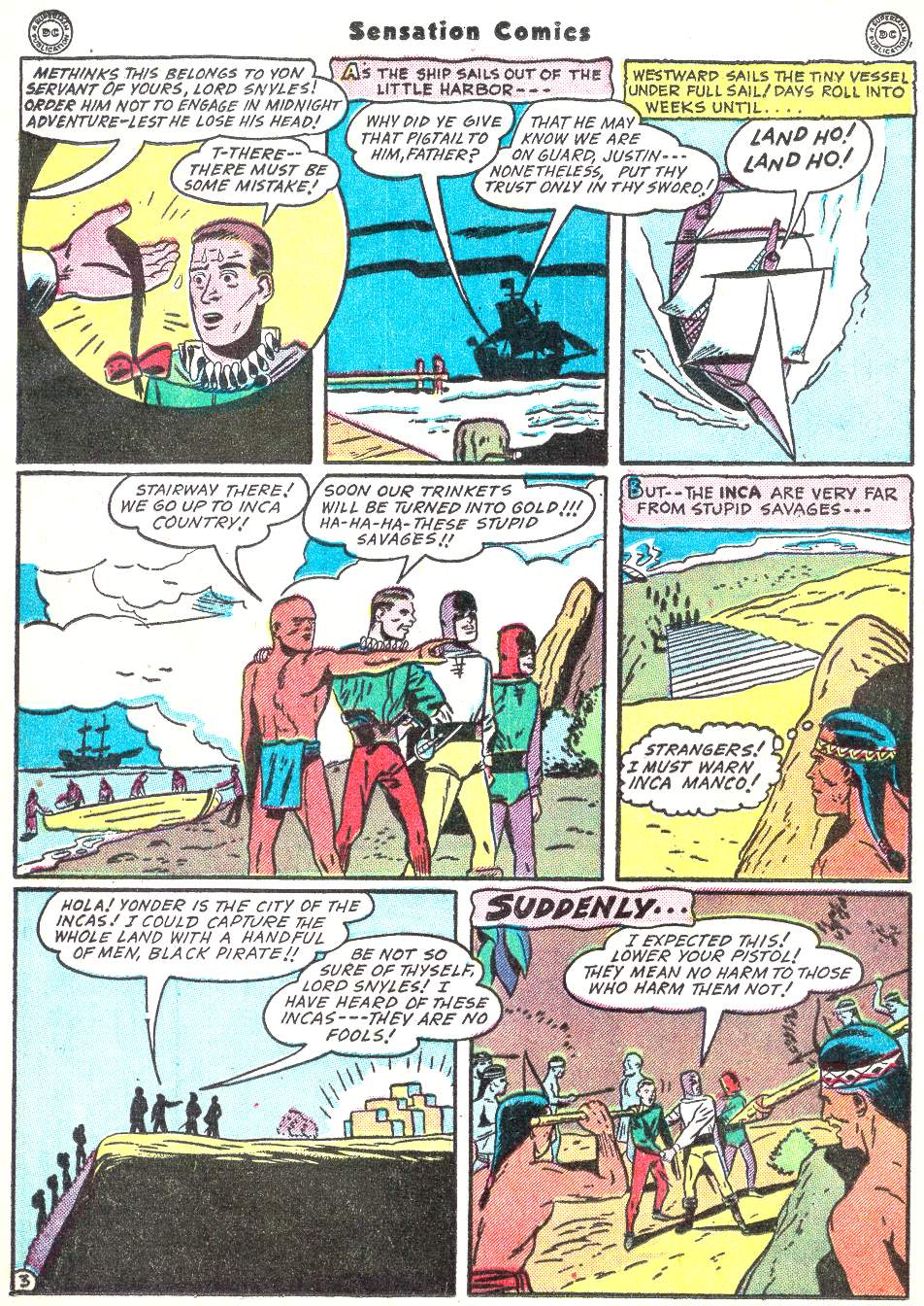 Read online Sensation (Mystery) Comics comic -  Issue #50 - 34
