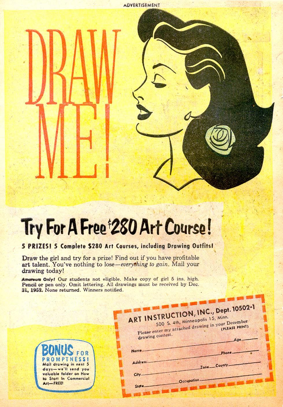 Read online Adventure Comics (1938) comic -  Issue #183 - 42