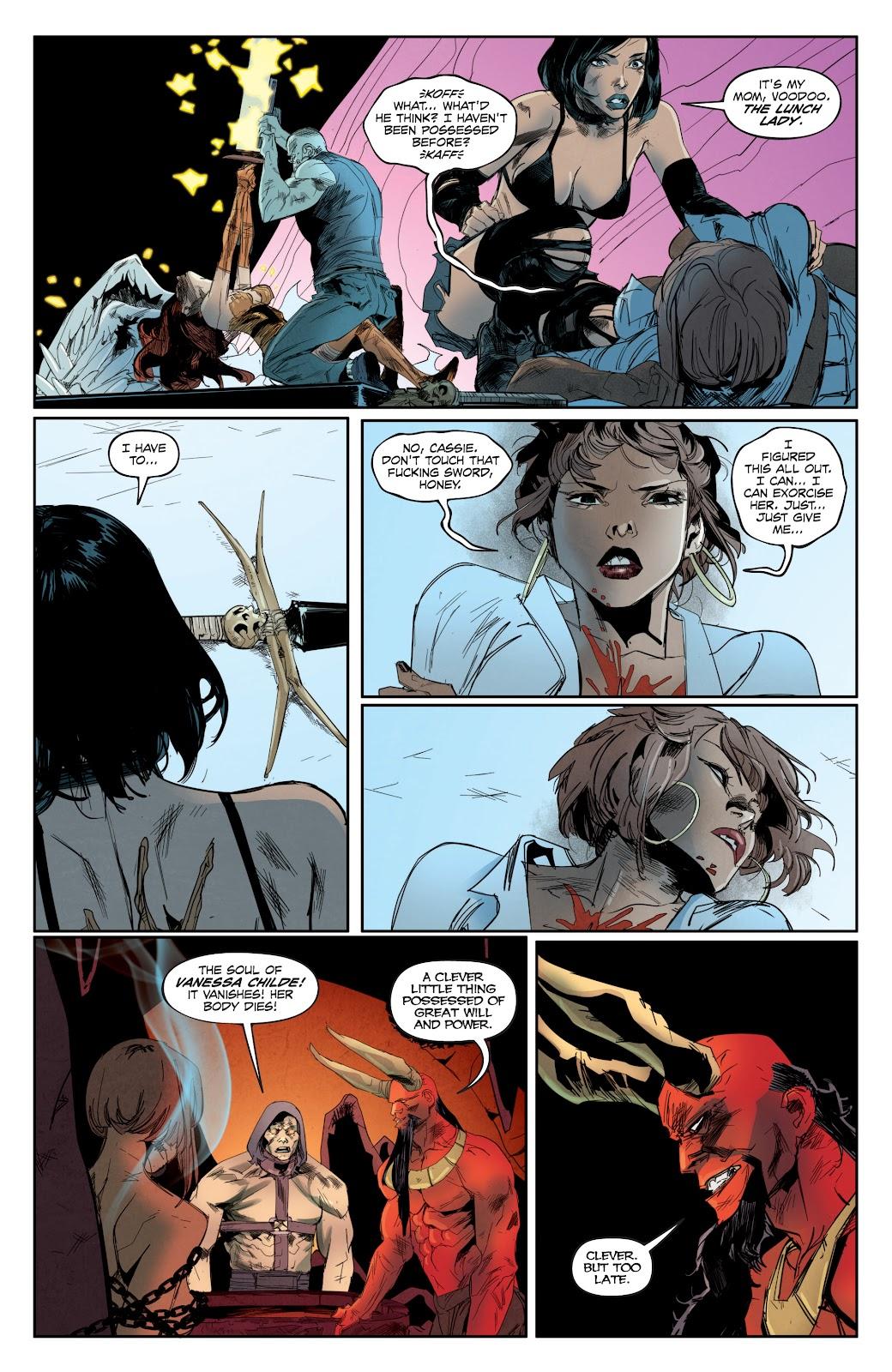 Read online Hack/Slash vs. Chaos comic -  Issue #4 - 12