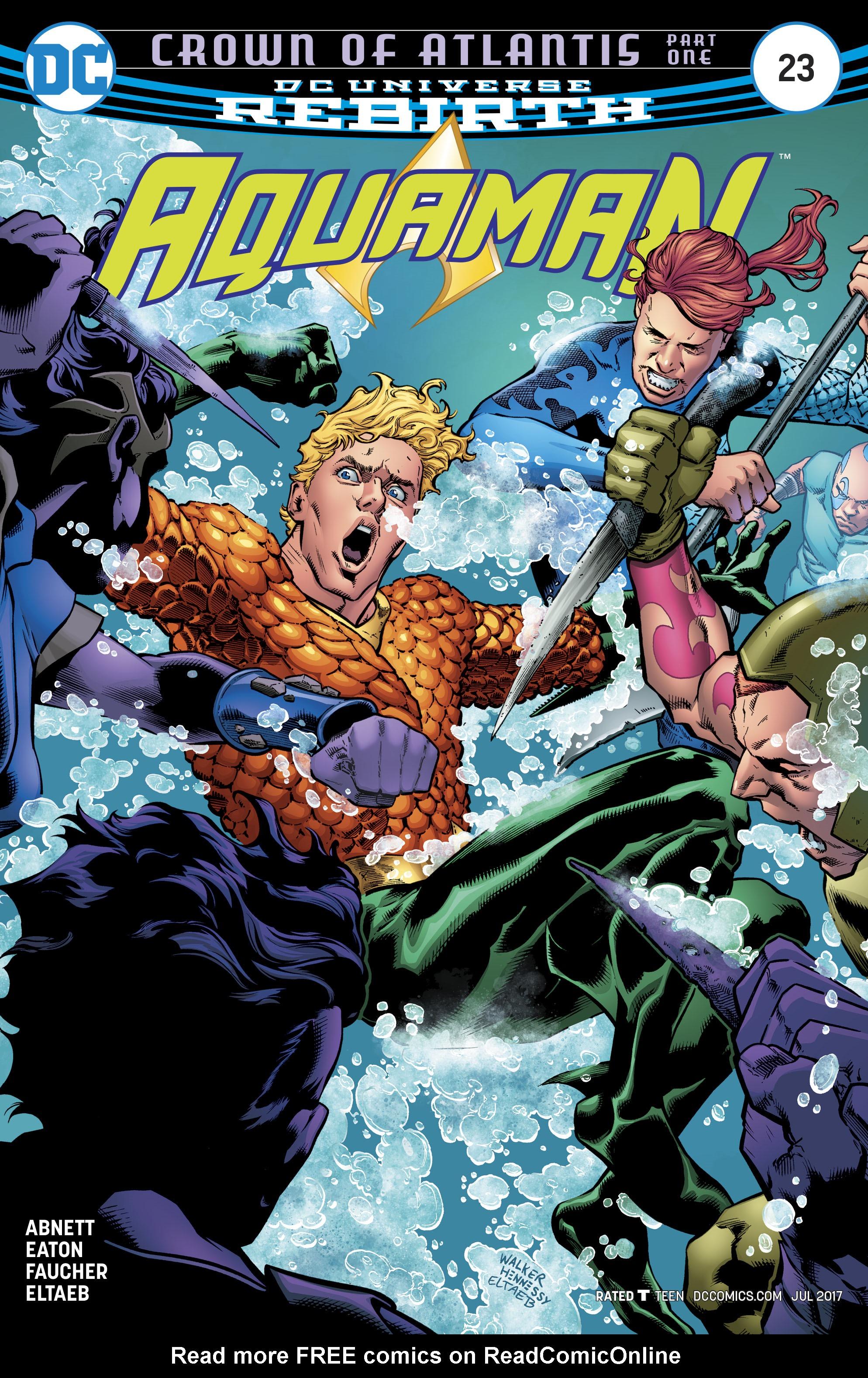 Read online Aquaman (2016) comic -  Issue #23 - 1