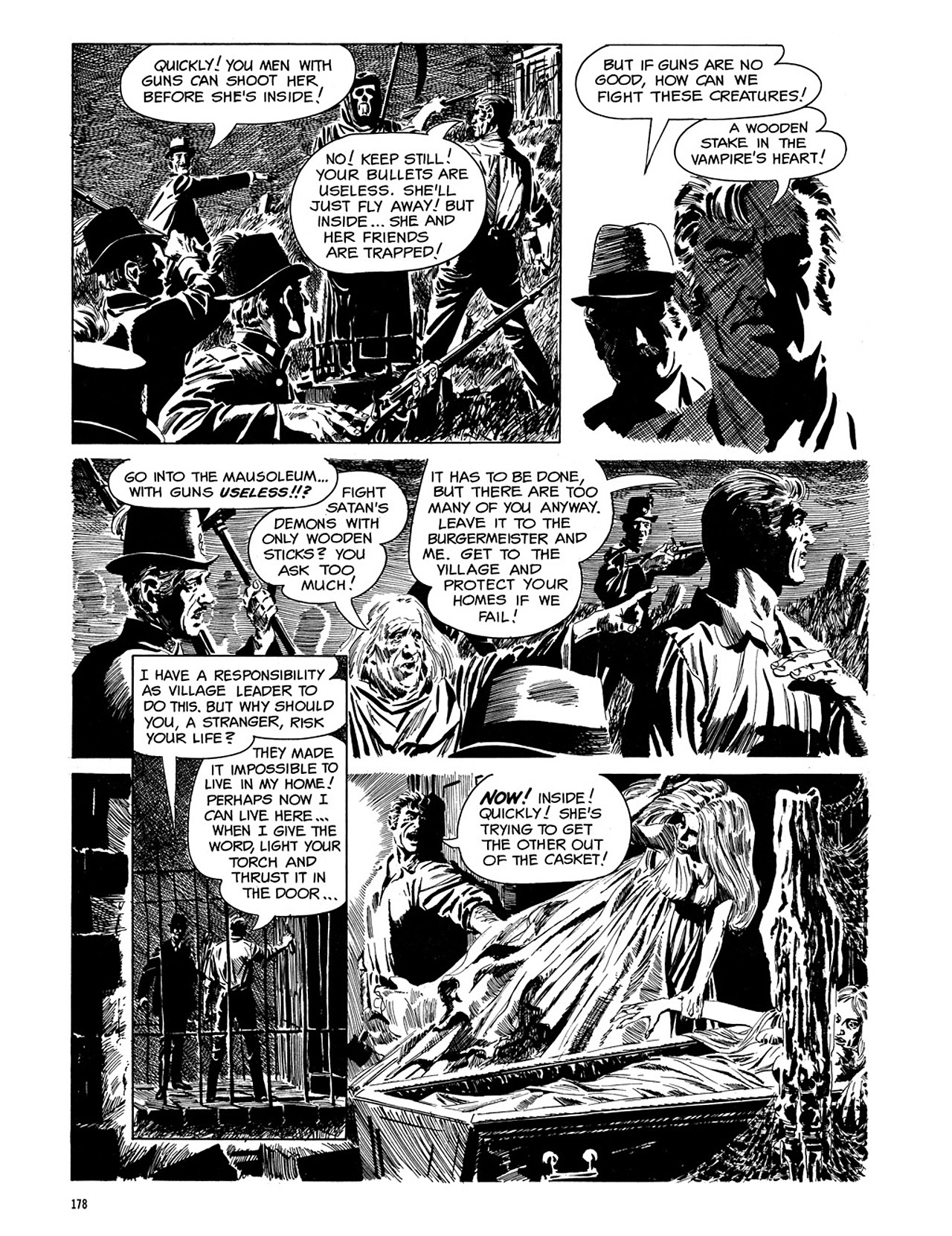 Read online Eerie Archives comic -  Issue # TPB 3 - 179