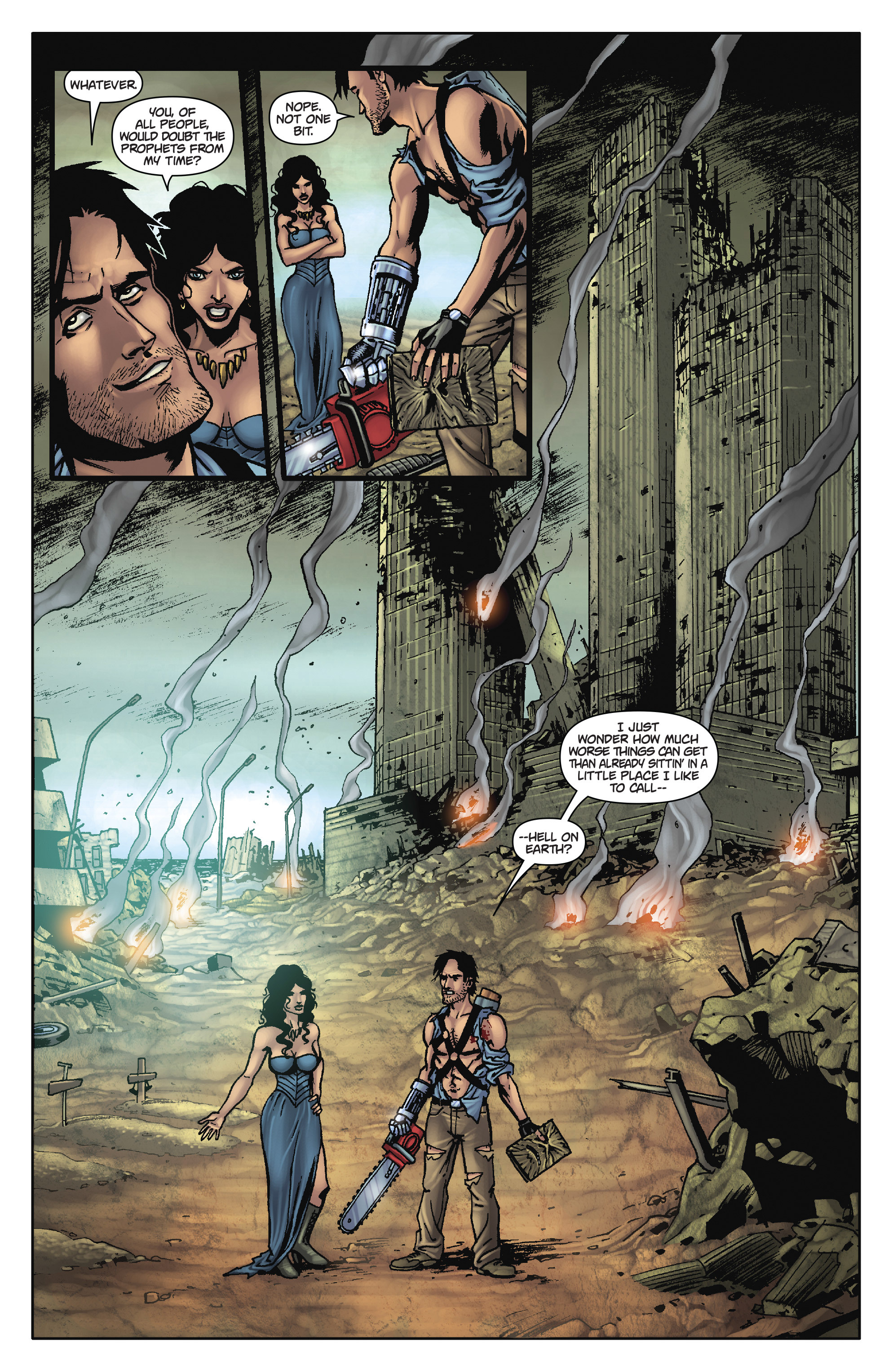 Read online Army of Darkness: The Long Road Home comic -  Issue #Army of Darkness: The Long Road Home TPB - 25