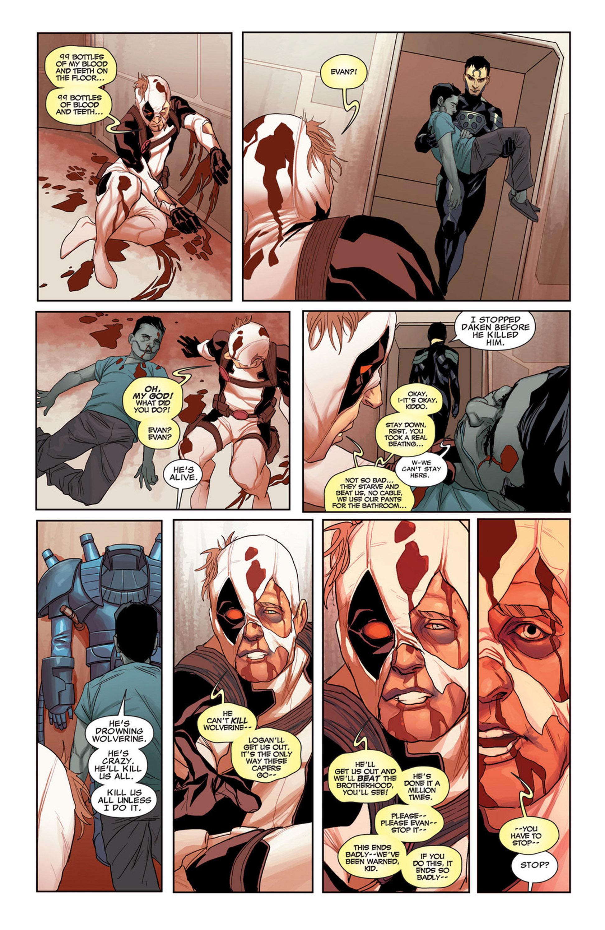 Uncanny X-Force (2010) #33 #35 - English 25