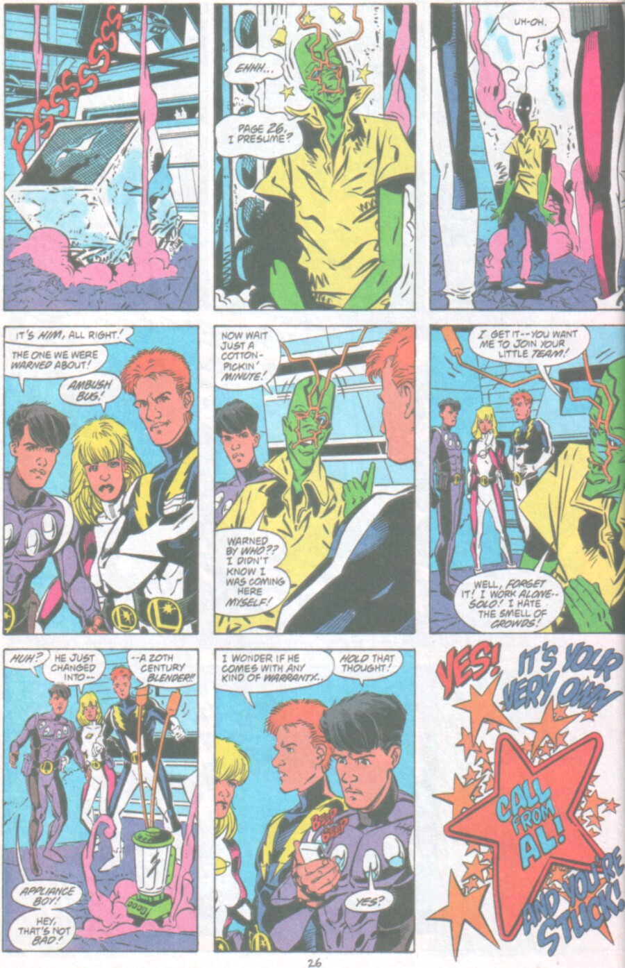 Read online Ambush Bug Nothing Special comic -  Issue # Full - 19