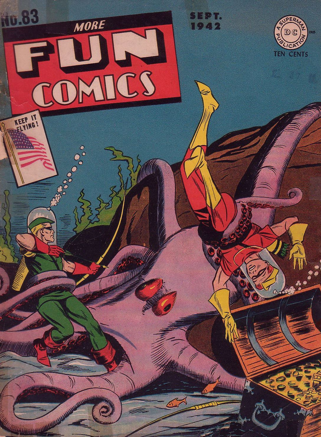 More Fun Comics 83 Page 1