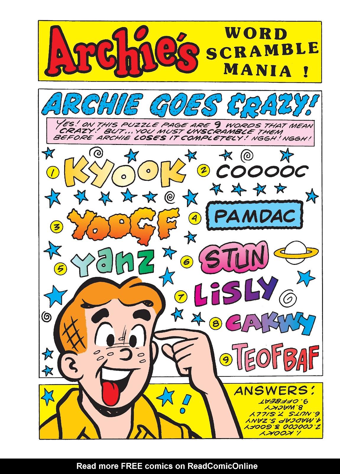 Archie 1000 Page Comics Blowout TPB Part 4   Viewcomic