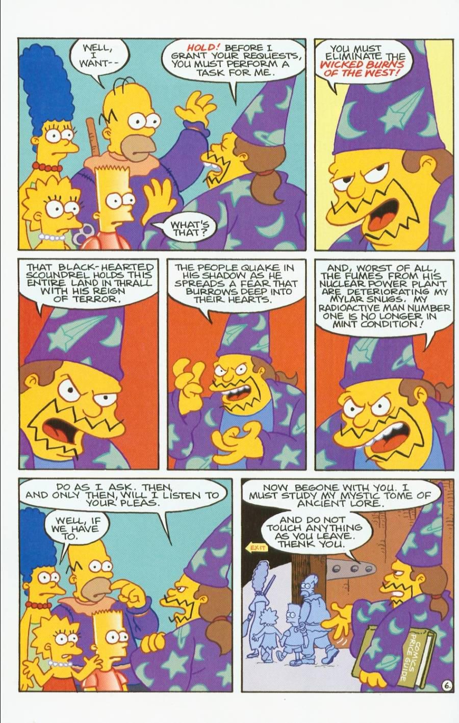 Read online Treehouse of Horror comic -  Issue #7 - 19