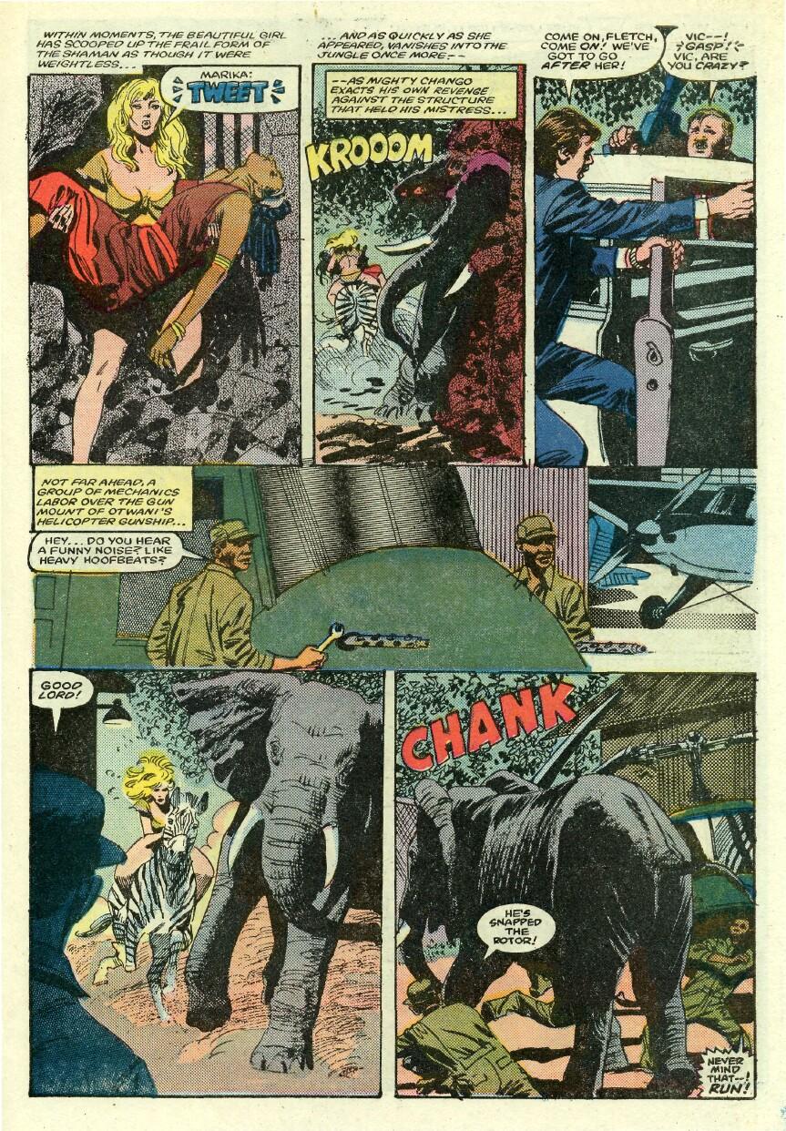 Read online Sheena comic -  Issue #1 - 23