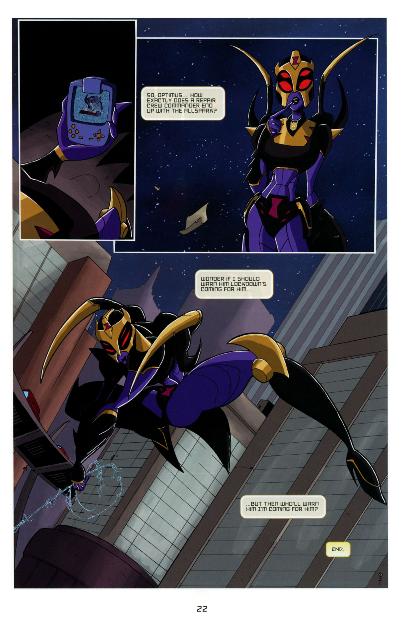 Read online Transformers Animated: The Arrival comic -  Issue #4 - 25