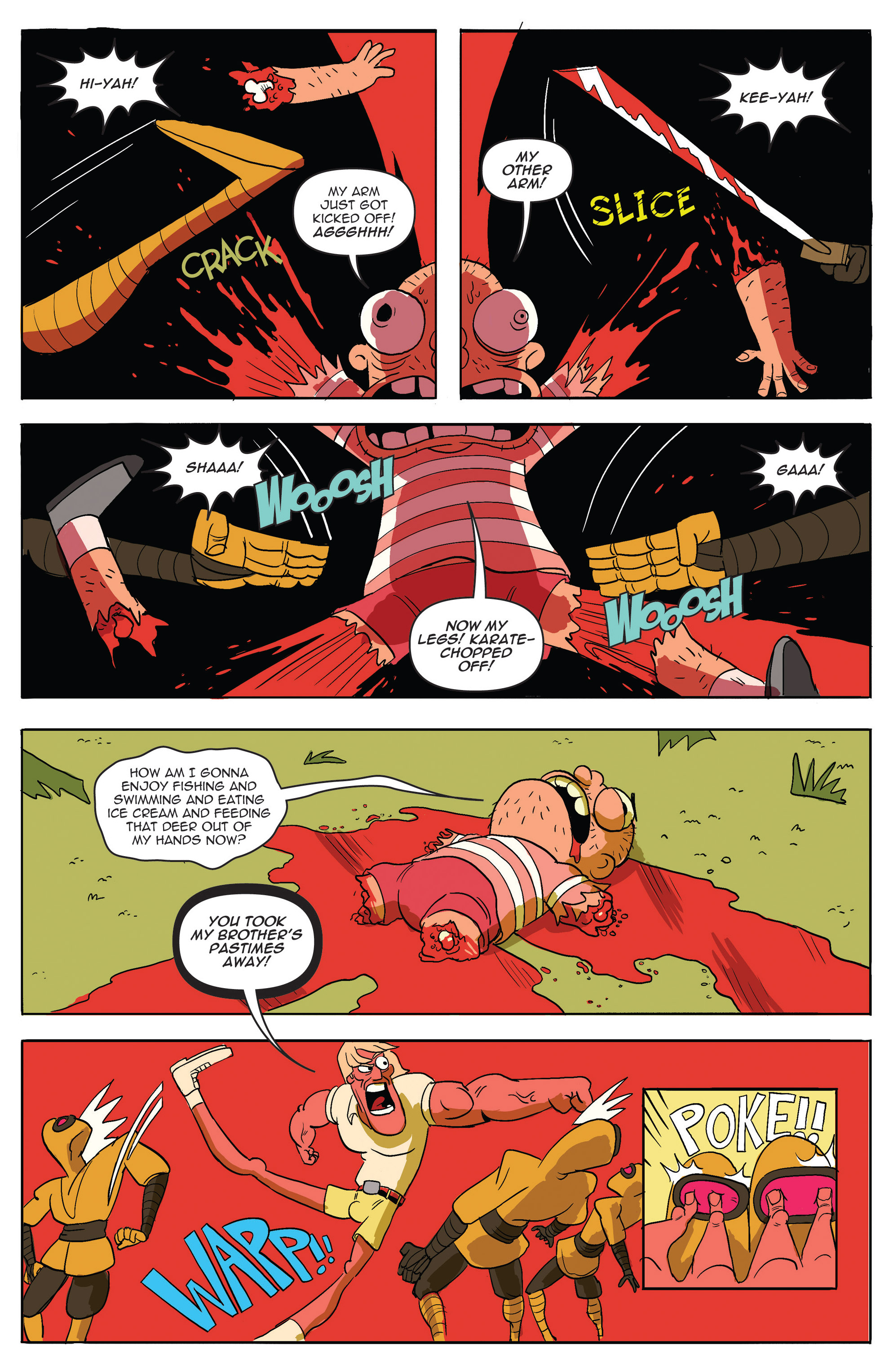 Read online AmeriKarate comic -  Issue #2 - 15