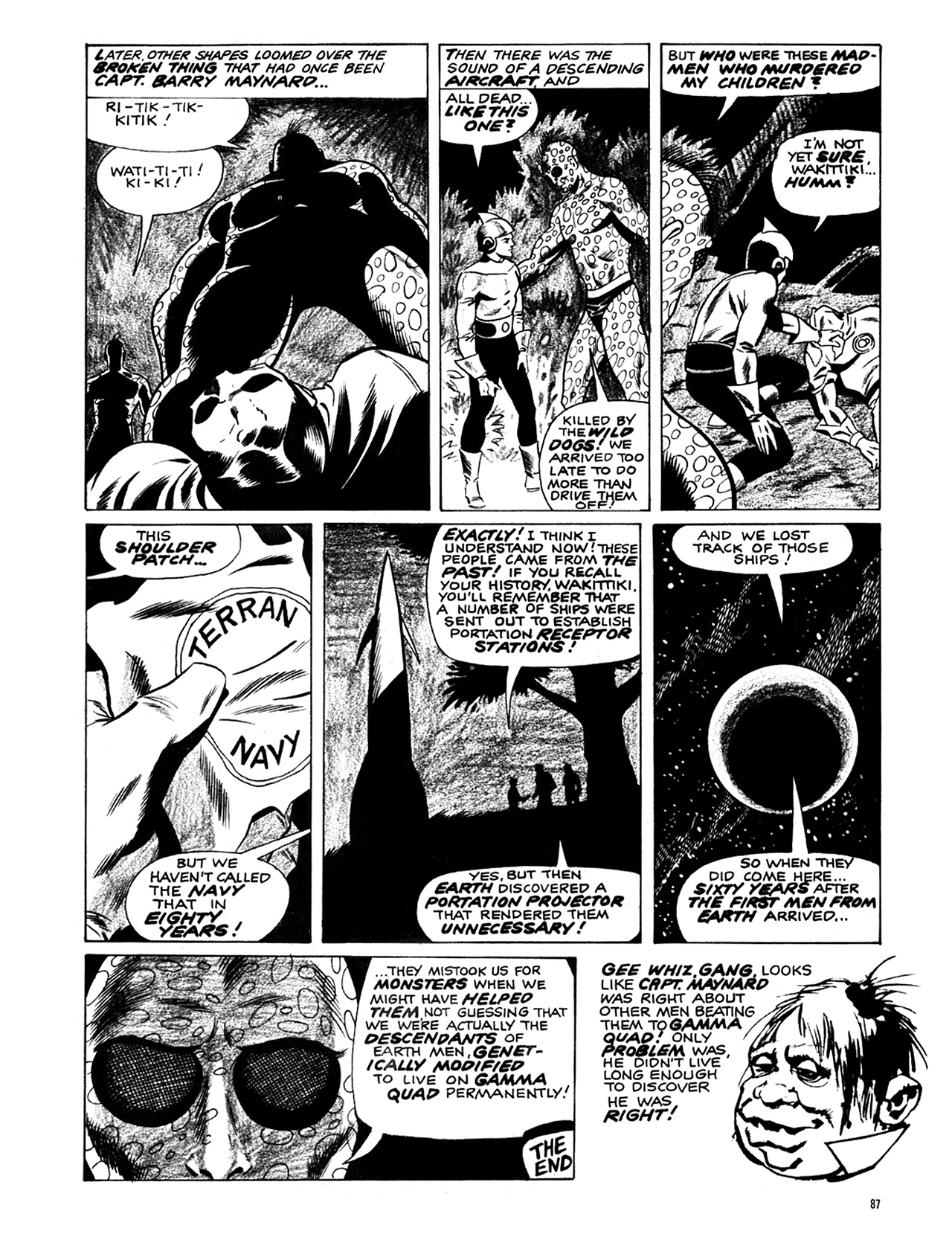 Read online Eerie Archives comic -  Issue # TPB 6 - 88