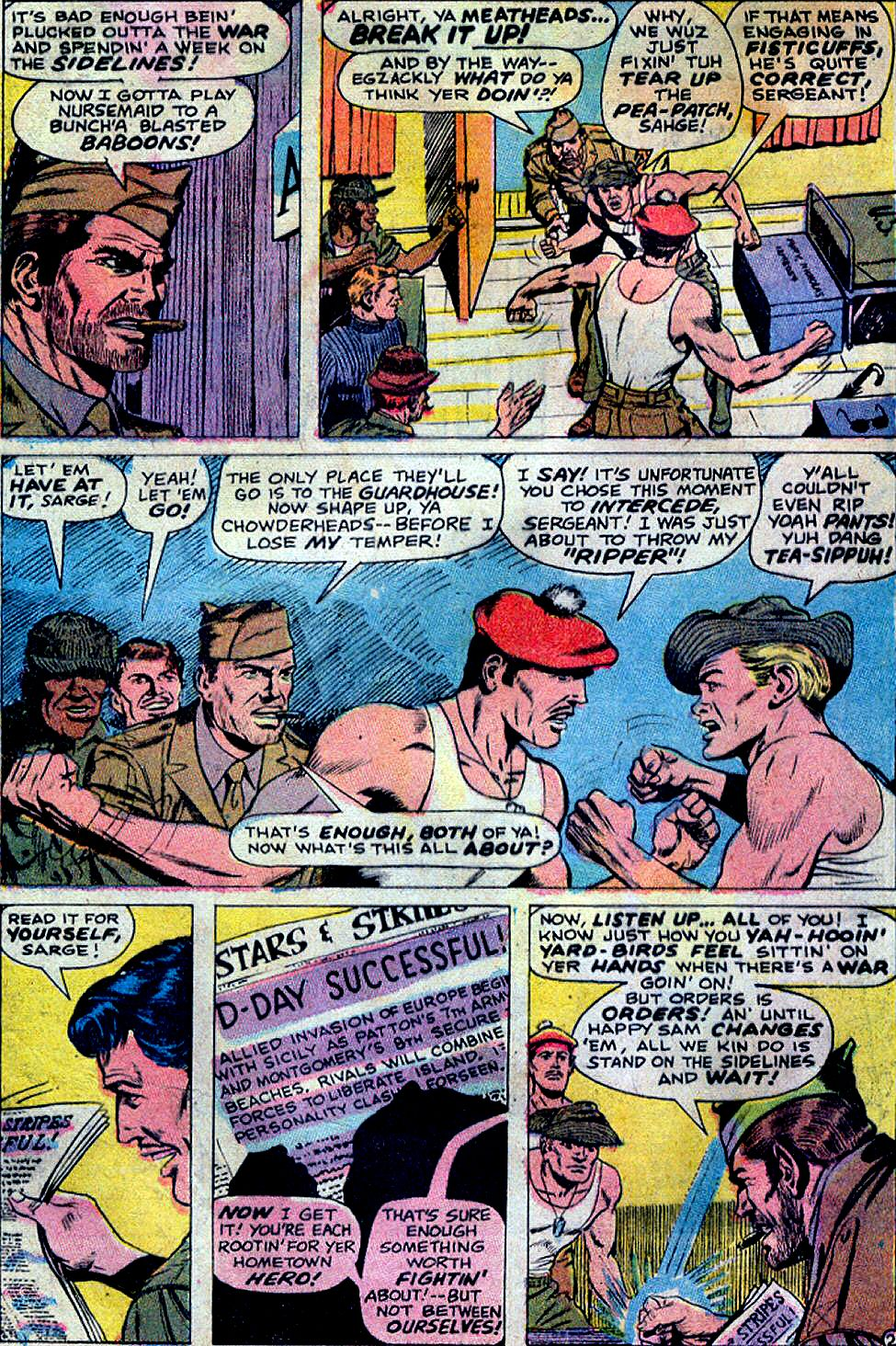 Read online Sgt. Fury comic -  Issue #88 - 4