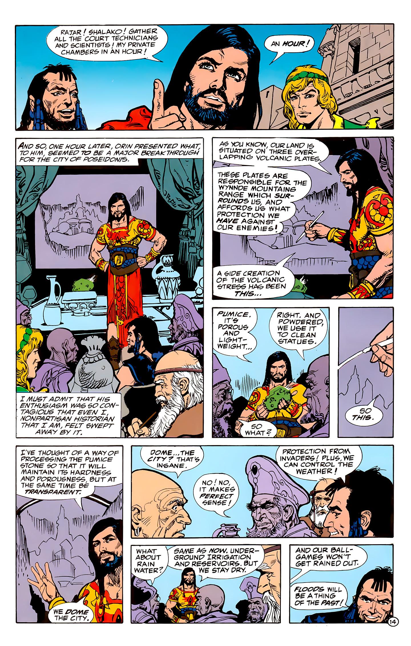 Read online Atlantis Chronicles comic -  Issue #1 - 14