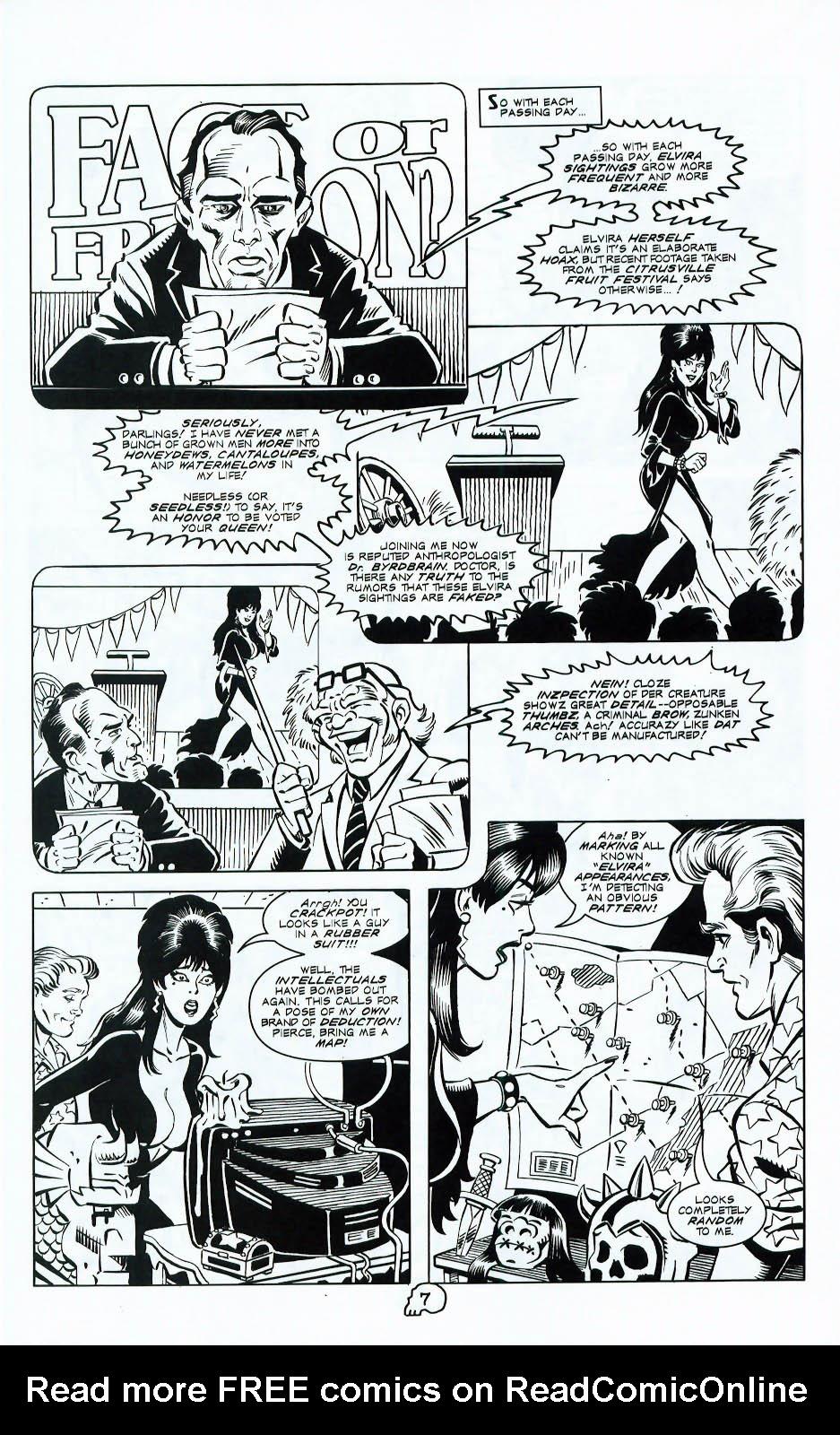 Read online Elvira, Mistress of the Dark comic -  Issue #117 - 9