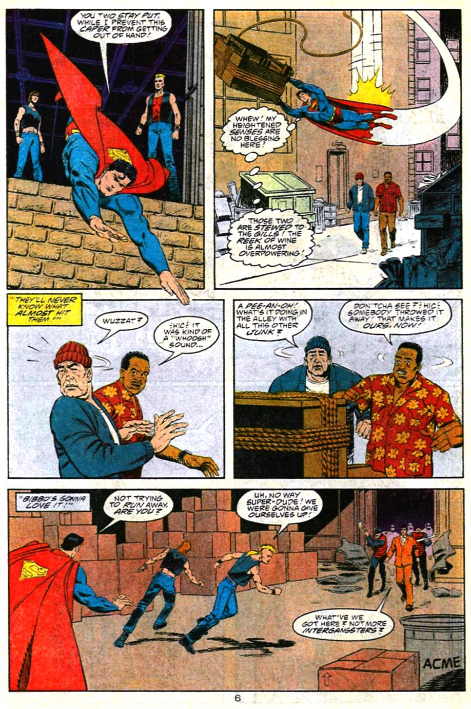 Adventures of Superman (1987) 483 Page 6