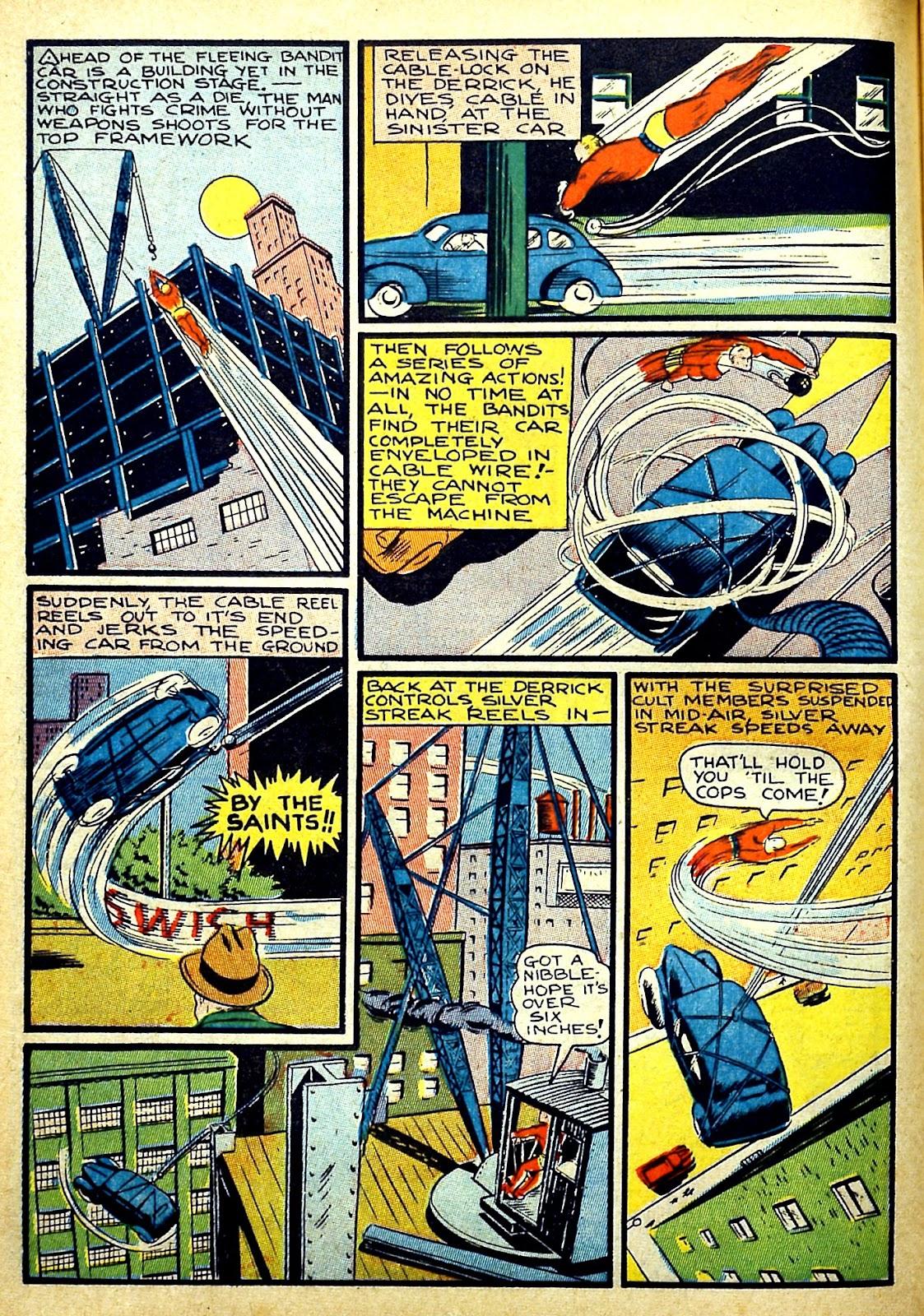 Read online Silver Streak Comics comic -  Issue #22 - 20