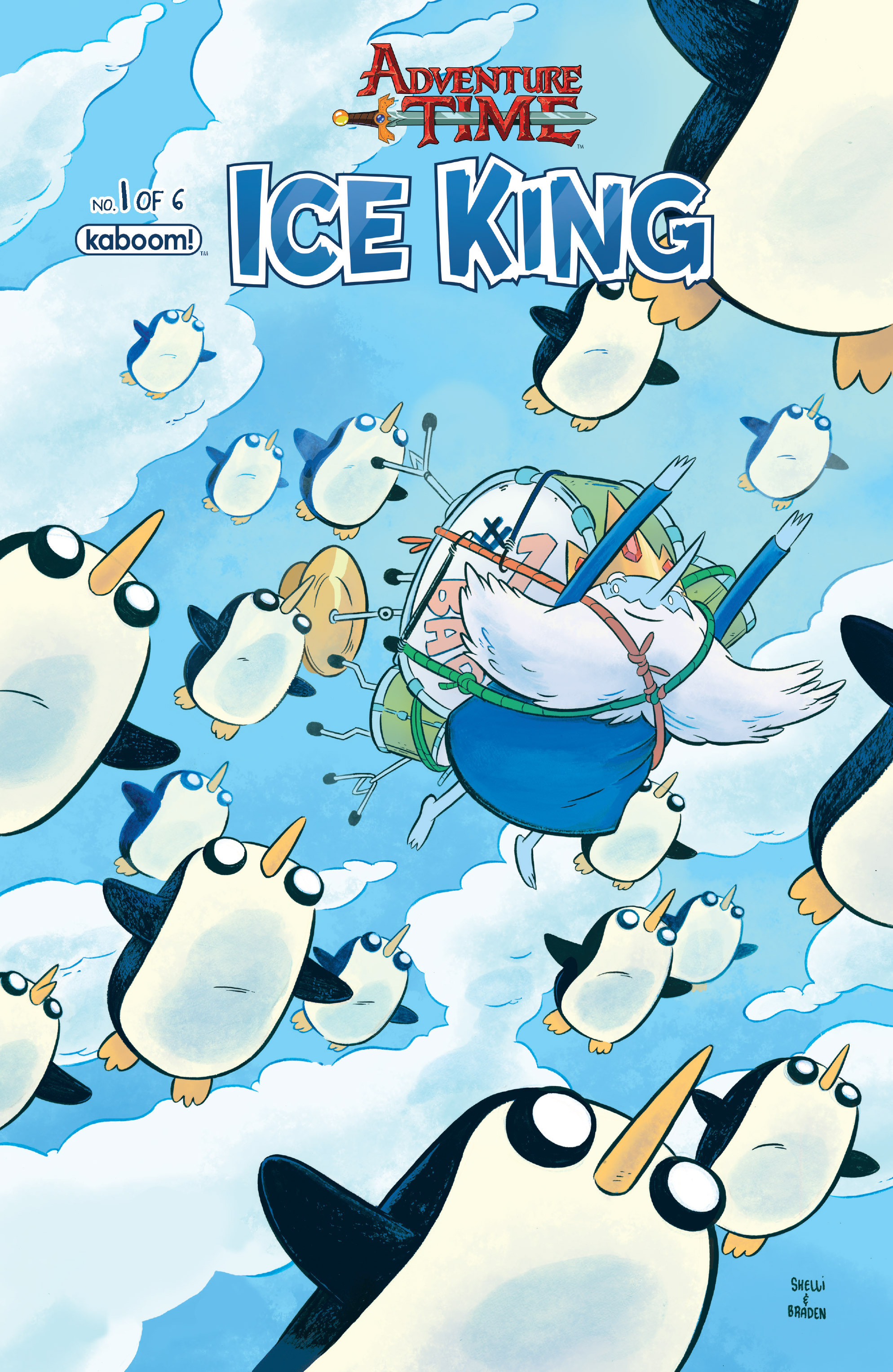 Read online Adventure Time: Ice King comic -  Issue #1 - 1