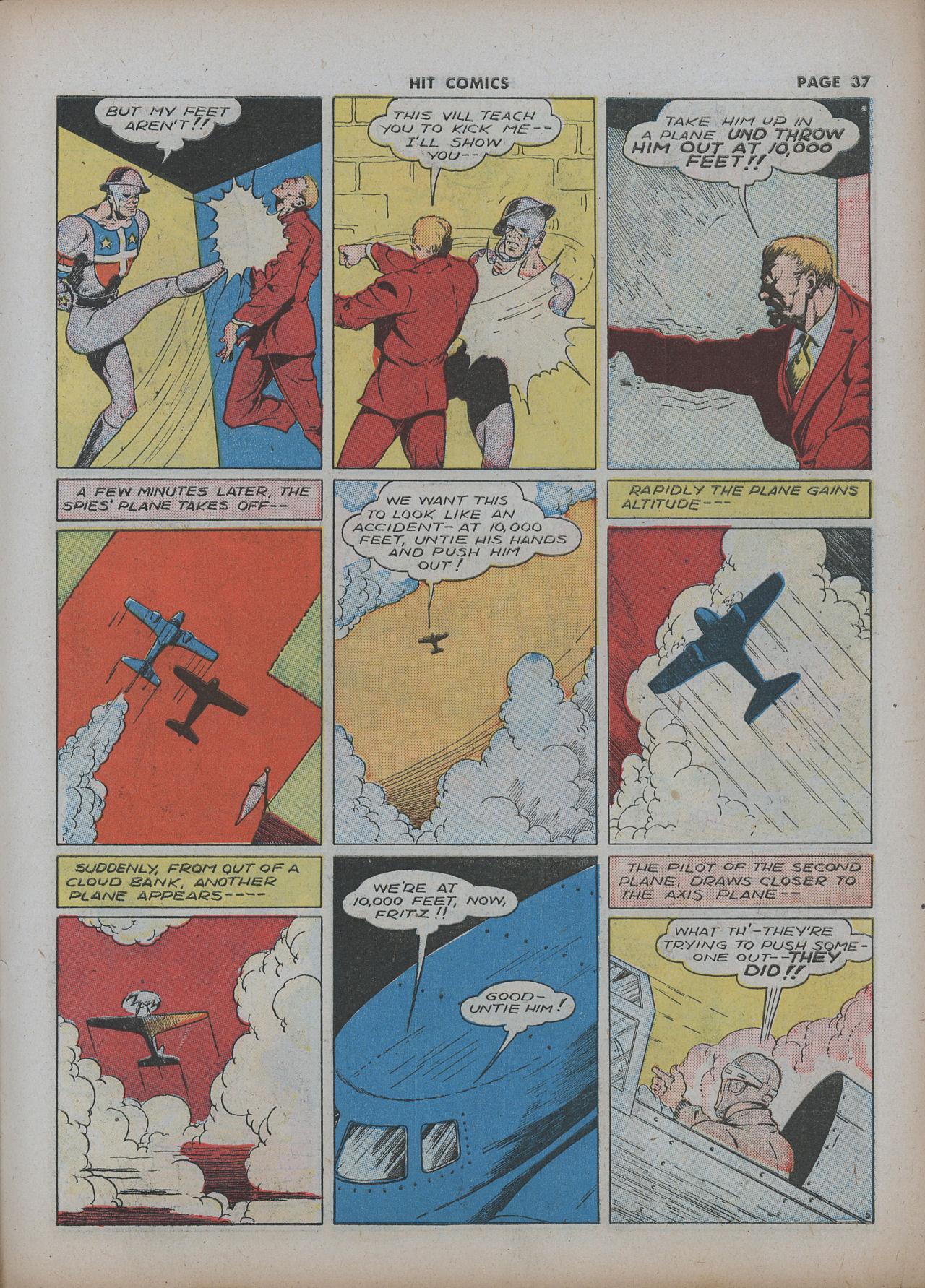 Read online Hit Comics comic -  Issue #22 - 39