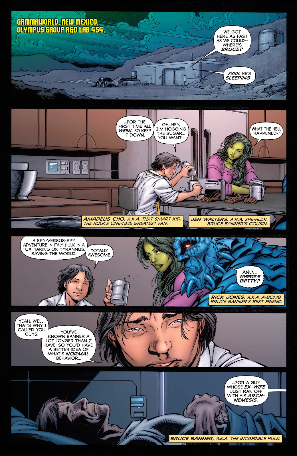 Read online Incredible Hulks (2010) comic -  Issue # _TPB Heart of the Monster - 6